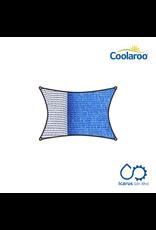 Coolaroo Commercial Grade Dualshade Sail Rectangular 5x3m, Color Santorini