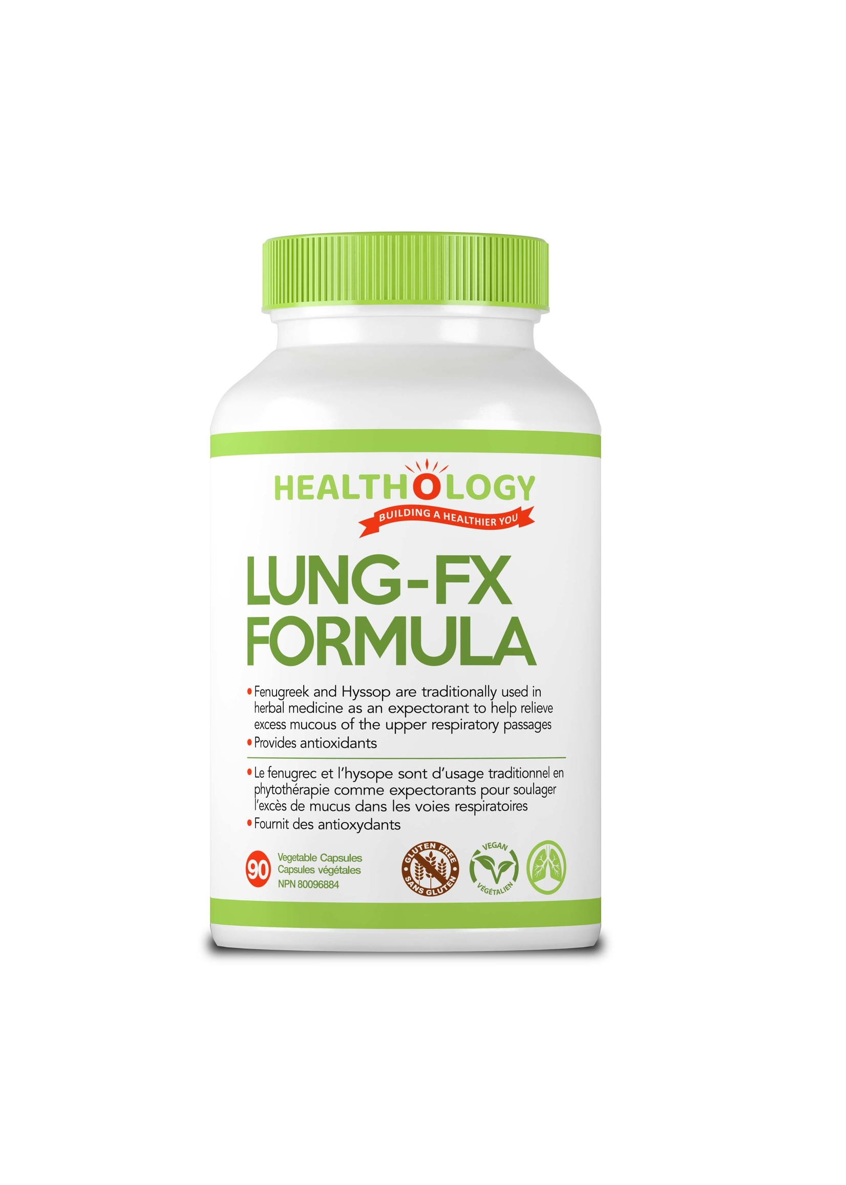 Healthology Healthology LUNG-FX 90 Capsules