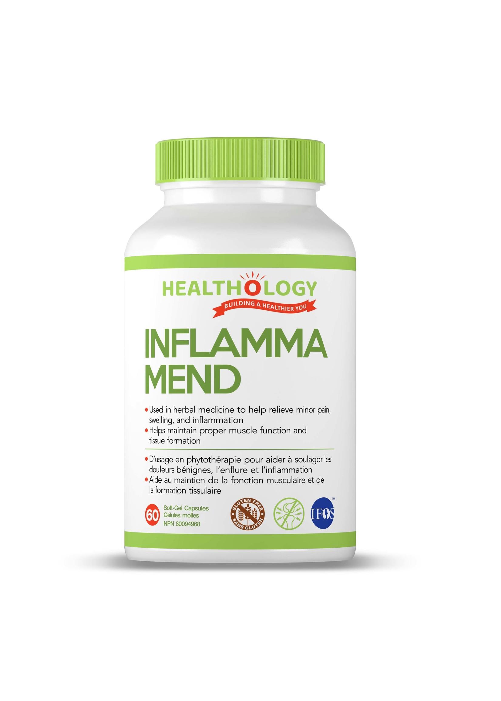 Healthology Healthology INFLAMMA-MEND 60 Soft-Gel Capsules