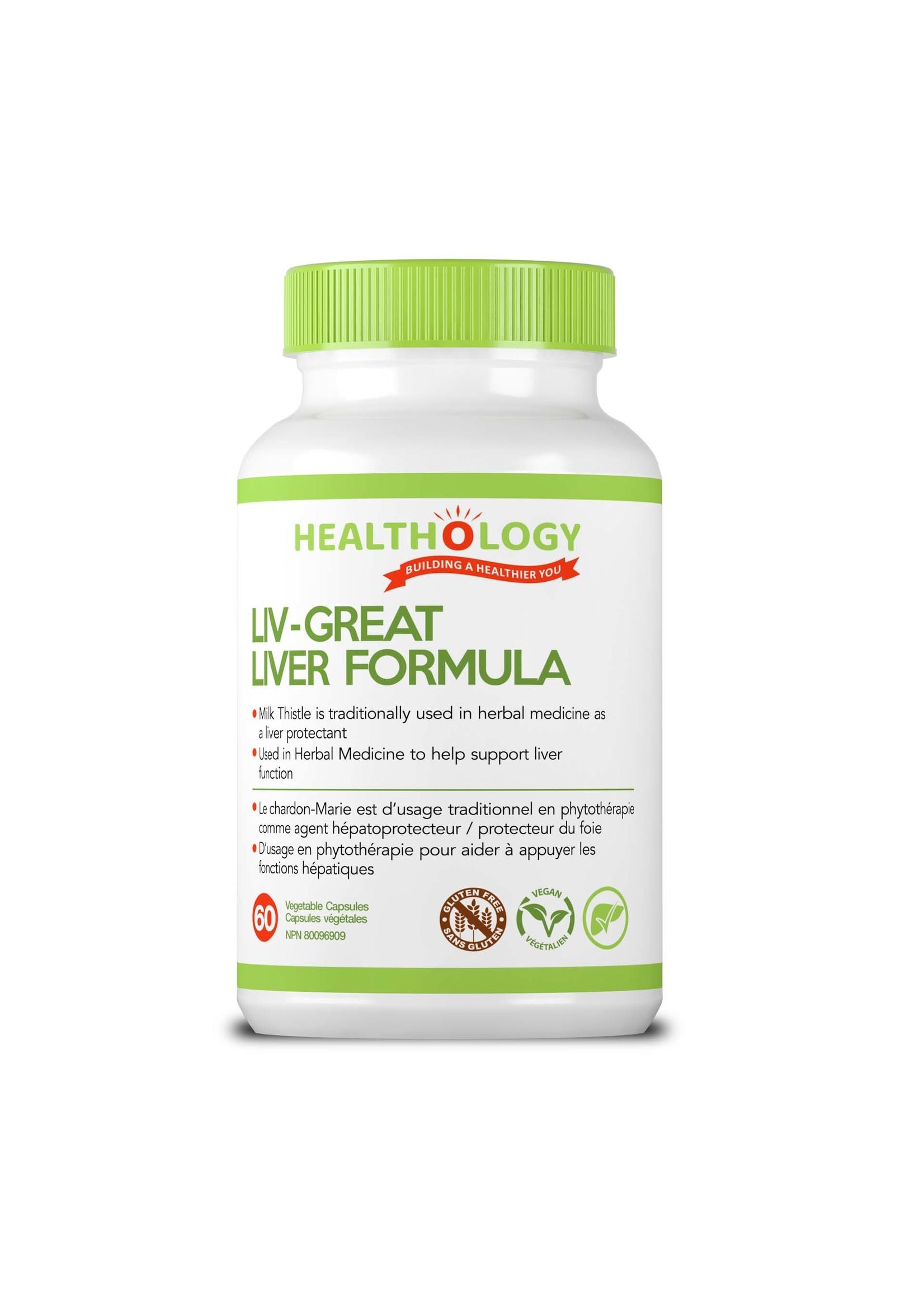 Healthology Healthology LIV-GREAT 60 Capsules