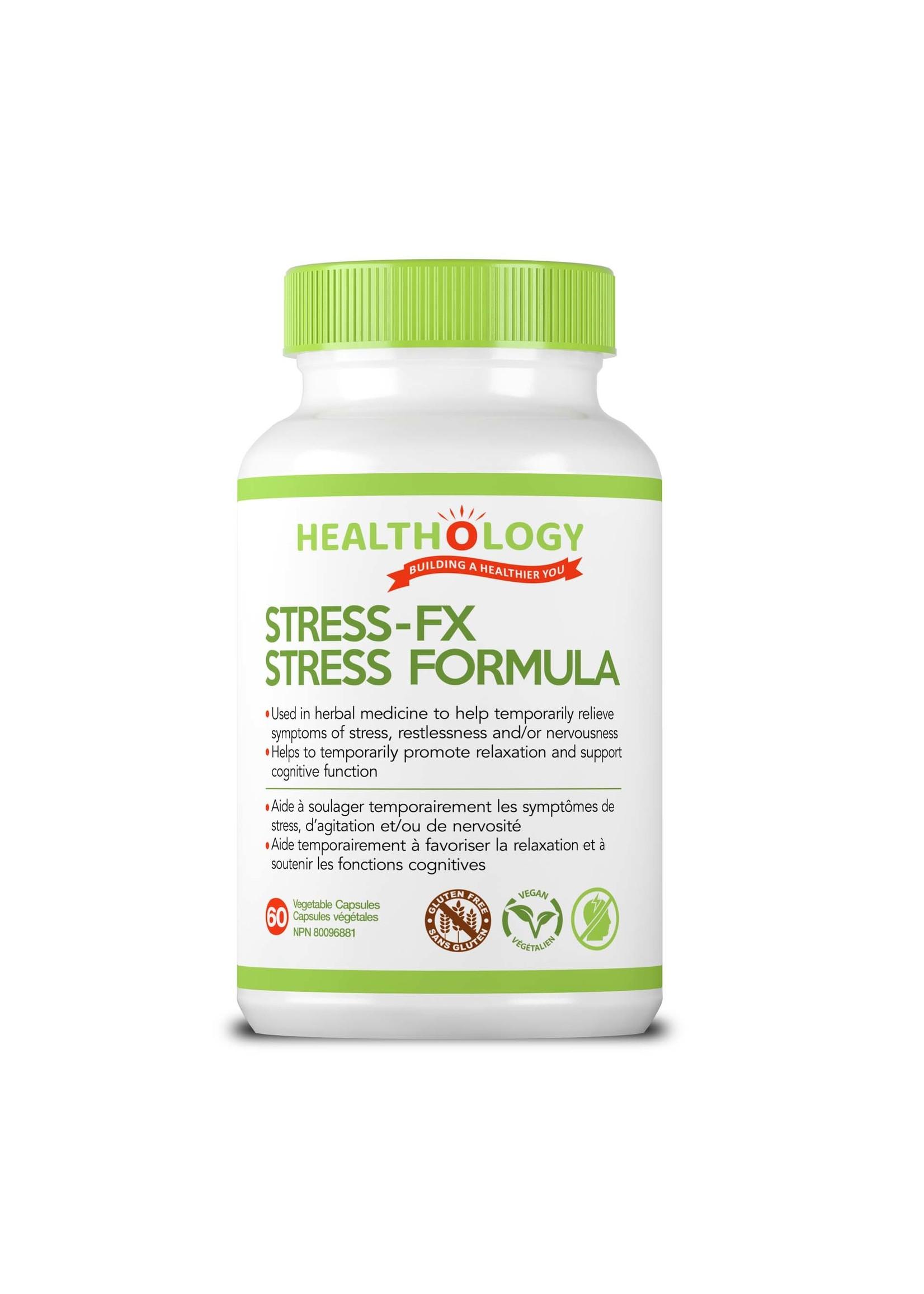 Healthology Healthology Stress FX 60 Caps