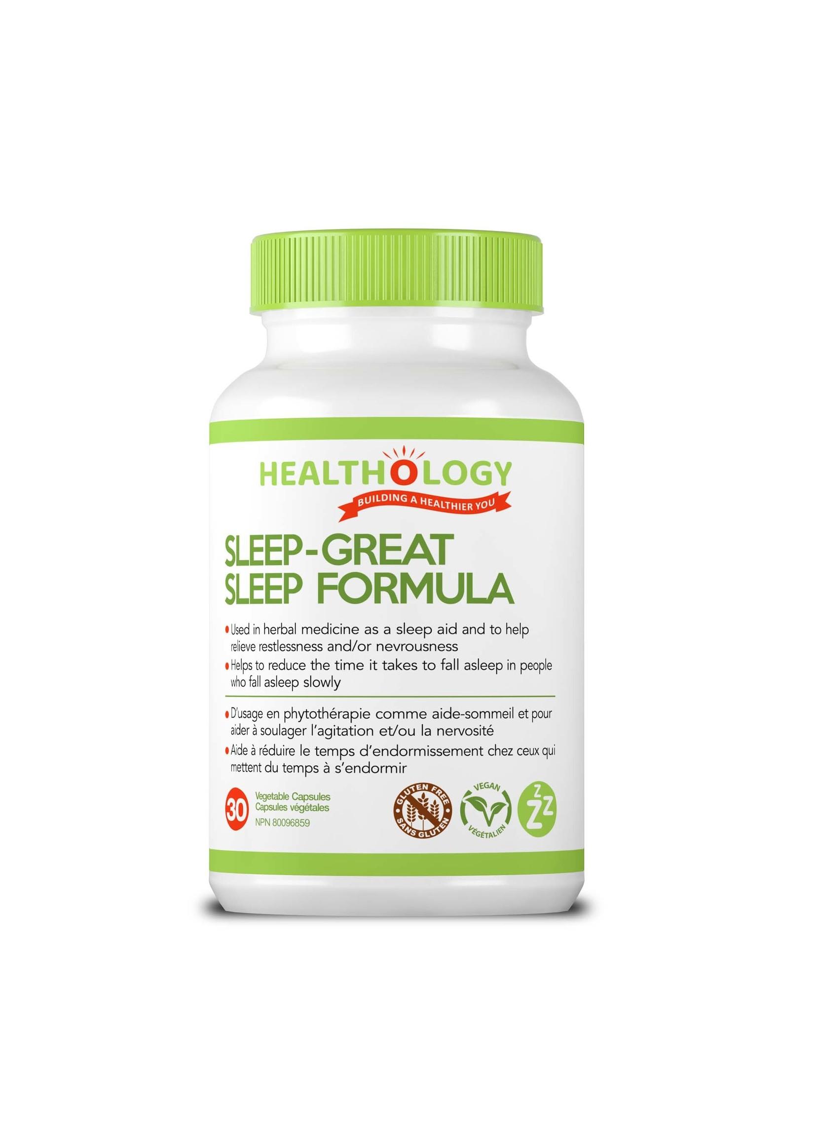 Healthology Healthology SLEEP-GREAT 30 Capsules
