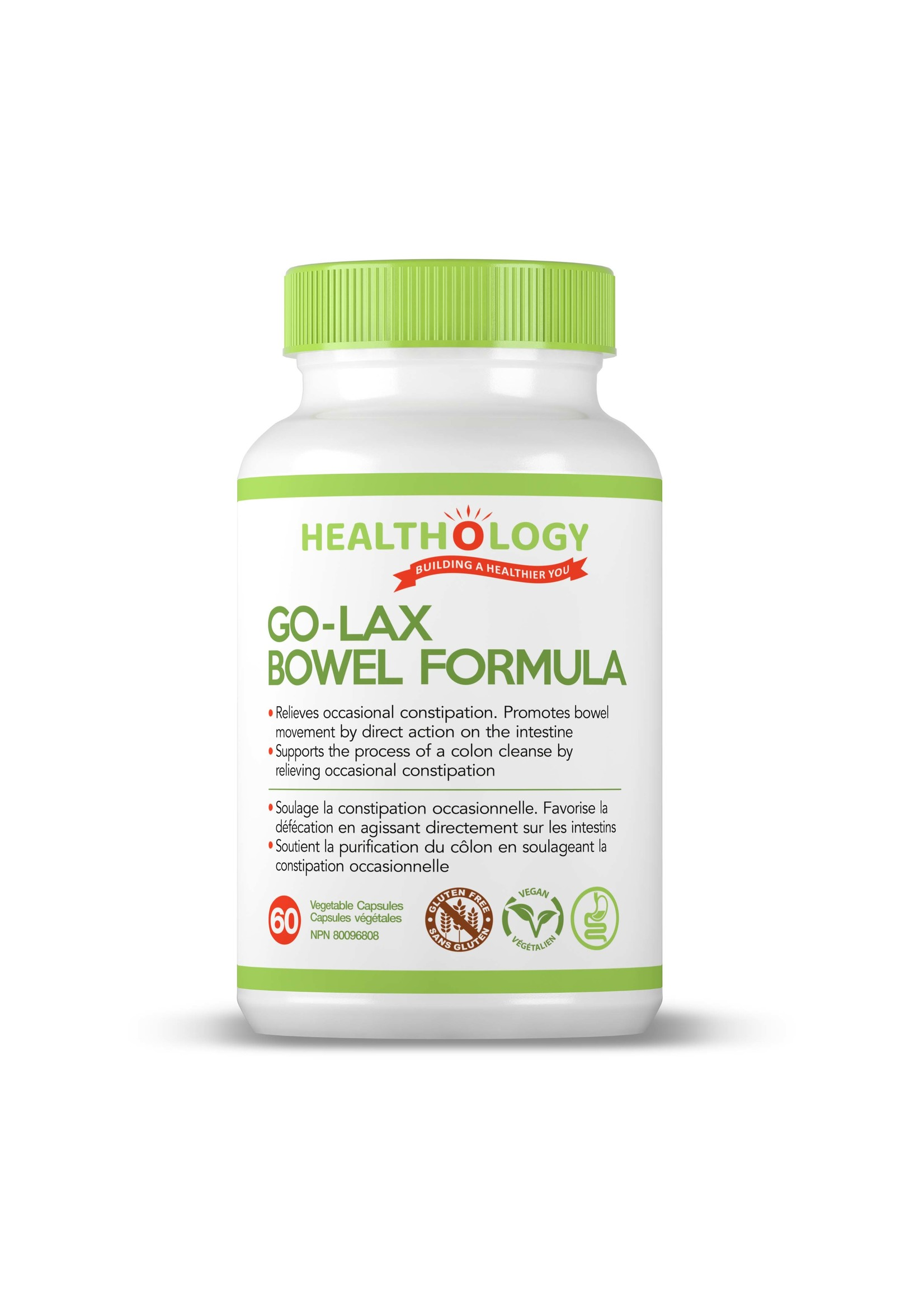 Healthology Healthology GO-LAX 60 Capsules