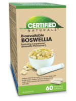 Certified Naturals Certified Naturals Boswelia 250 mg 60 caps
