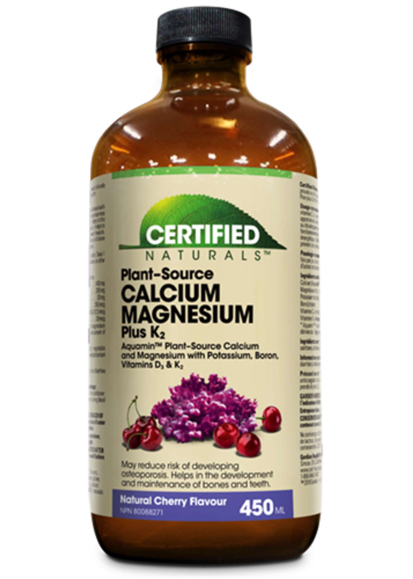 Certified Naturals Certified Naturals Cal-Mag Liquid Cherry 450ml