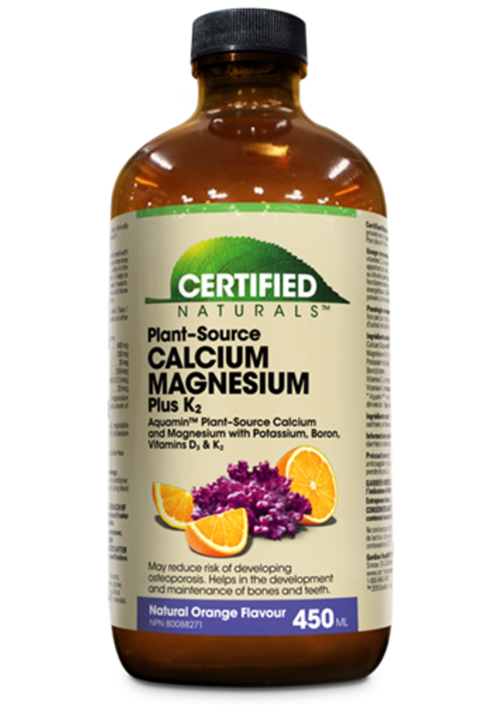 Certified Naturals Certified Naturals Cal-Mag Liquid Orange 450ml
