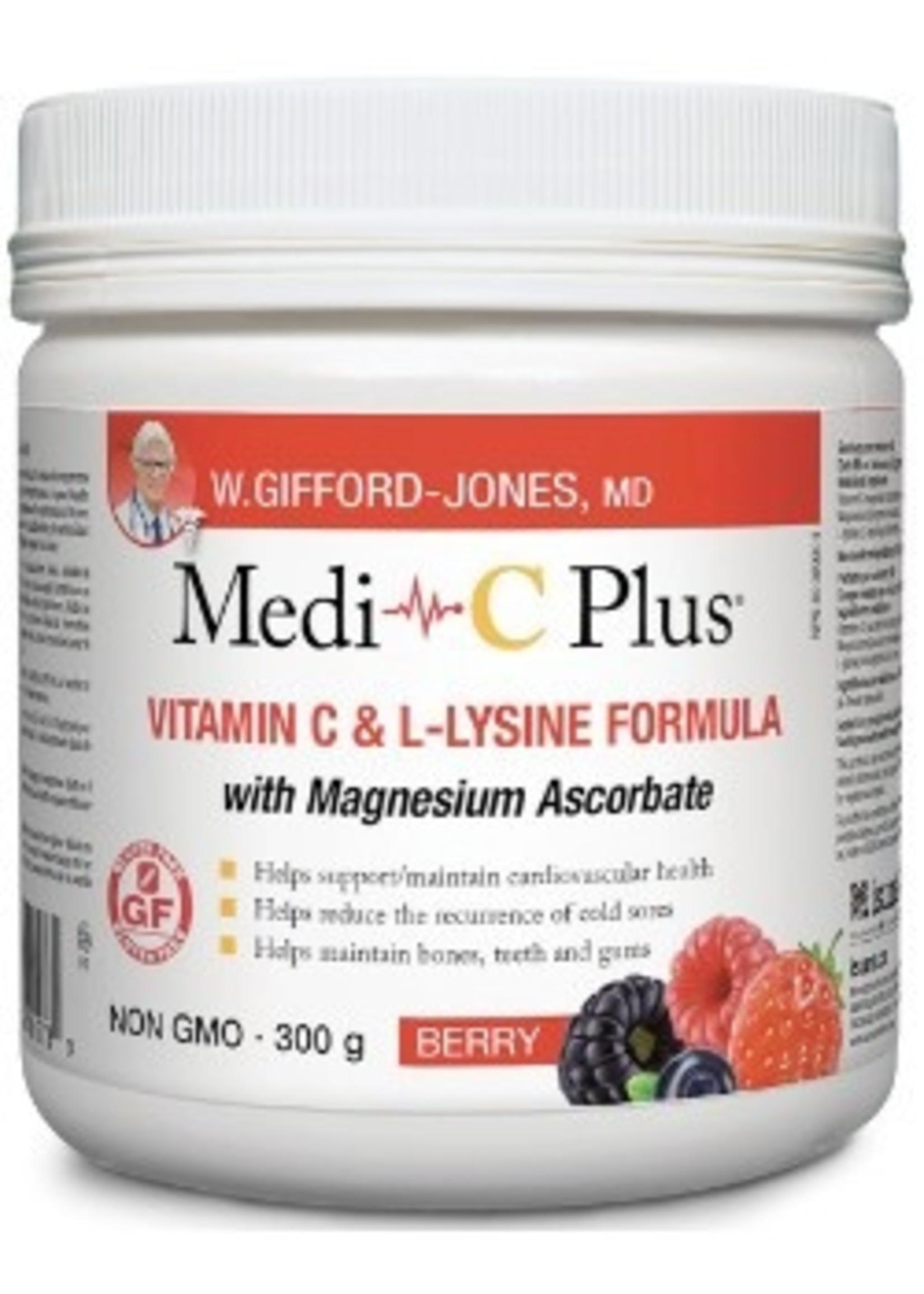 Gifford-Jones Medi~C Plus Berry w/ Calcium Pwd 300g