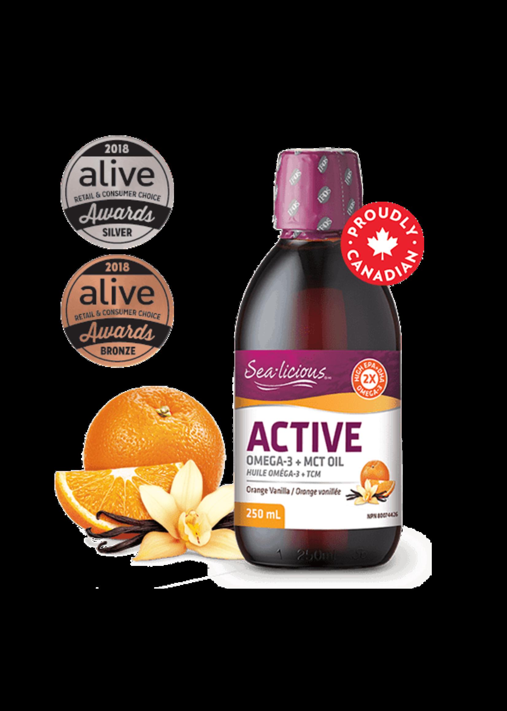 Sea-licious Sea-licious Active Orange/Vanilla 250 ml