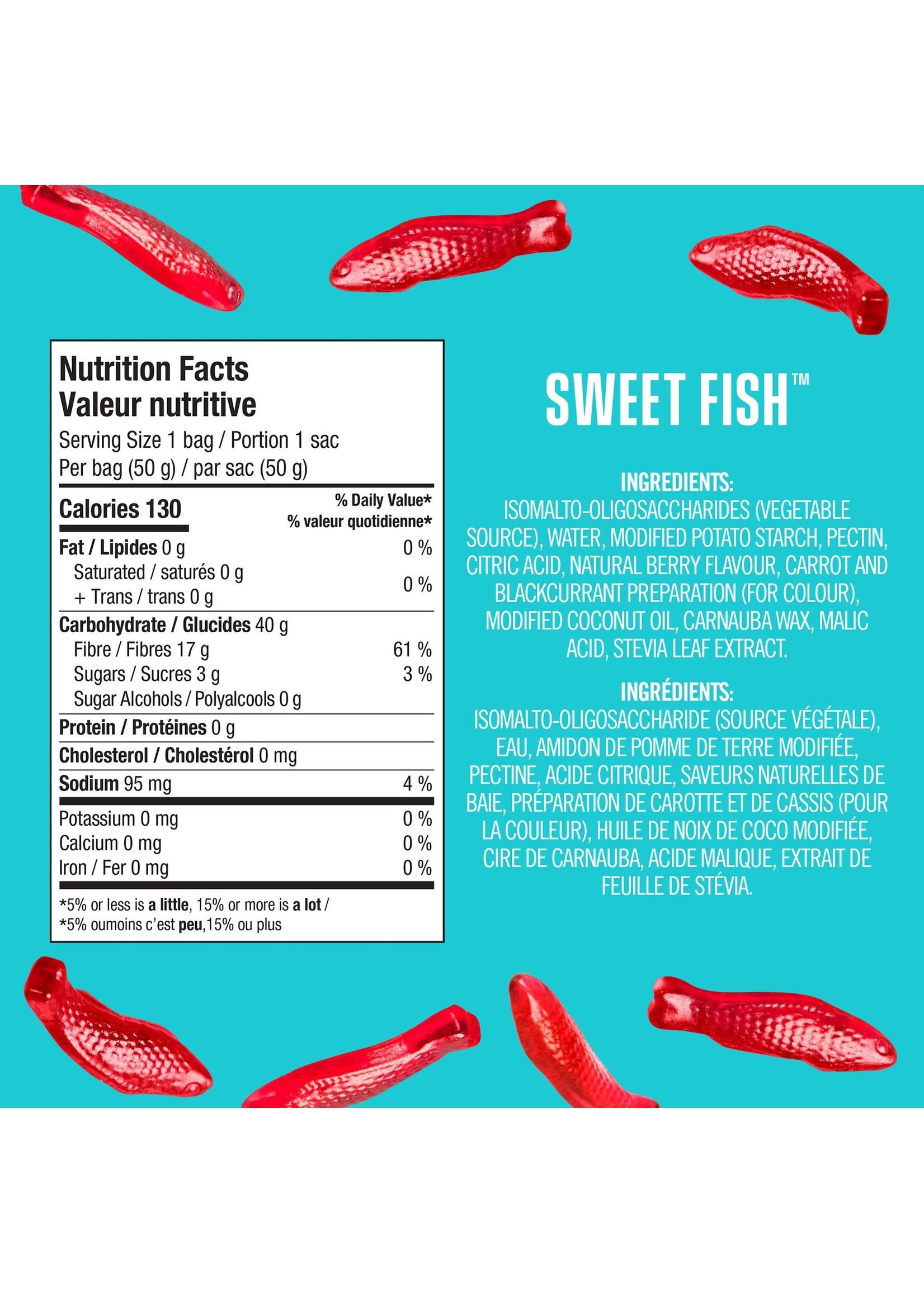 SmartSweets SMARTSWEETS-SWEET FISH 50G