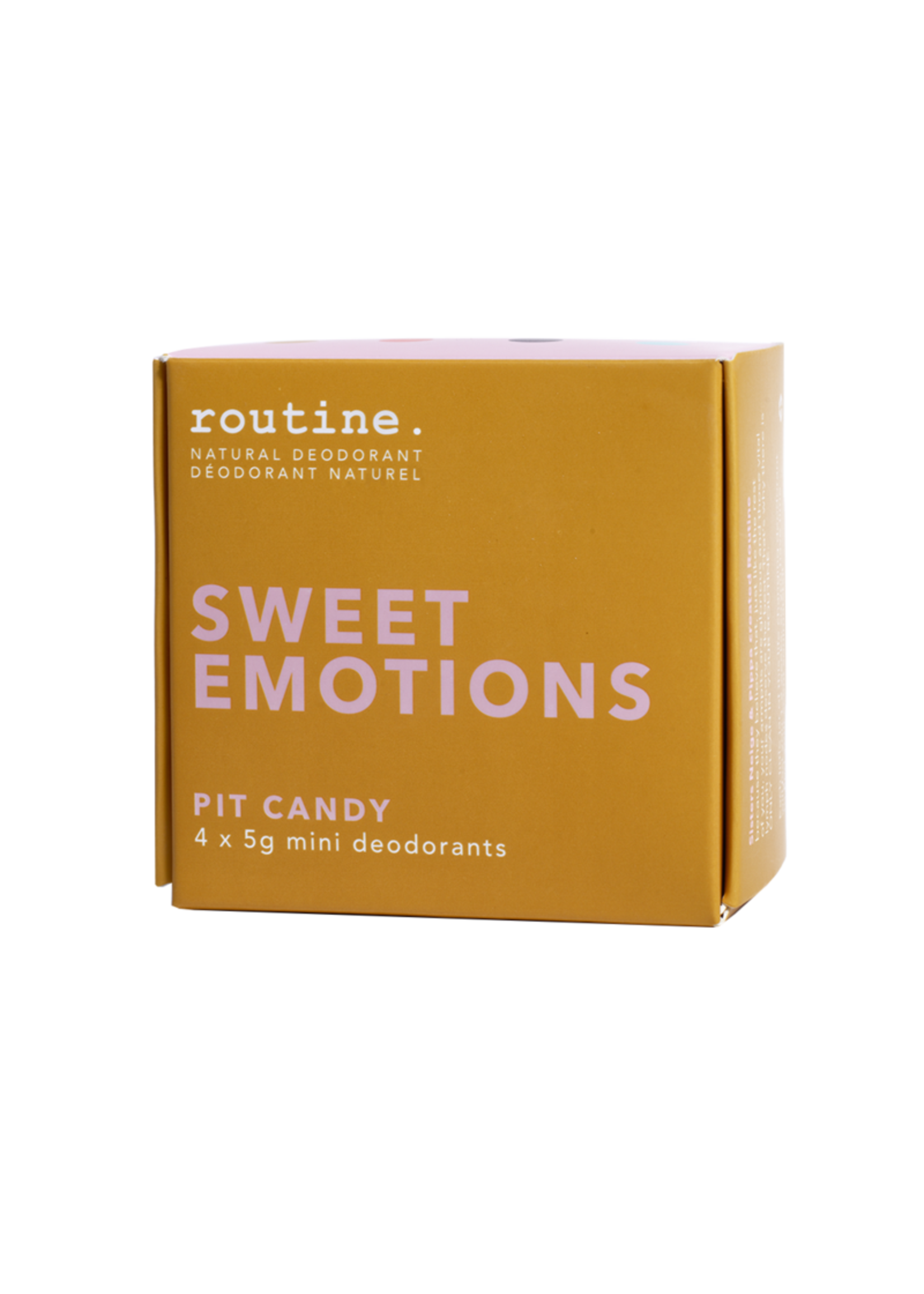 Routine ROUTINE-SWEET EMOTIONS MINIS KIT 4X5G