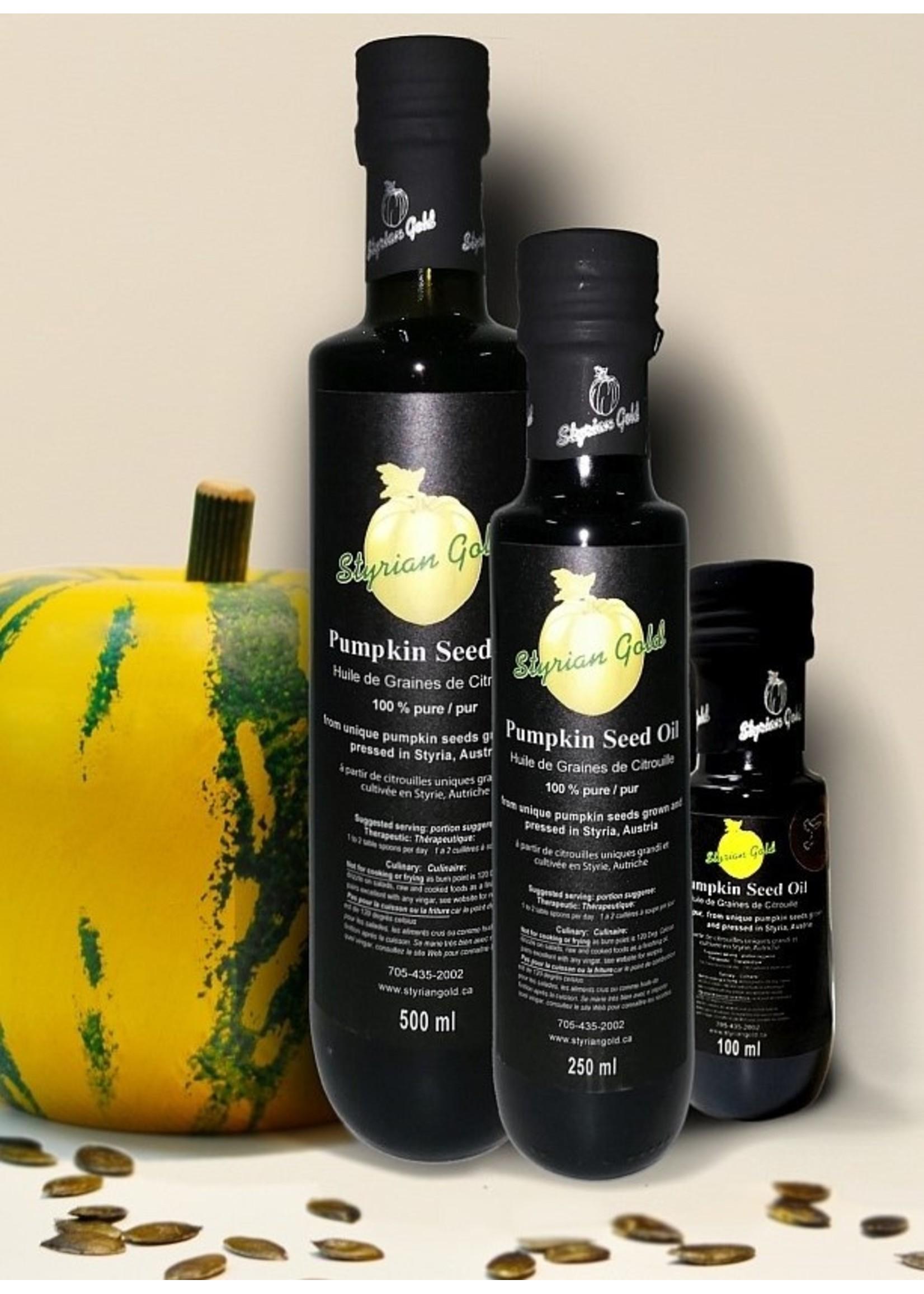 Styrian Gold Styrian Gold Glass Bottle - P.G.I. Pumpkin Seed Oil 250ml