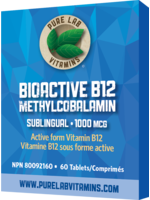 Pure lab Pure Lab Bioactive B12 1000mcg Sublingual 60 tabs