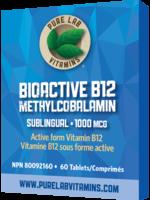 Pure lab Pure Lab Bioactive B12 1000mcg Sublingual 60 tabs