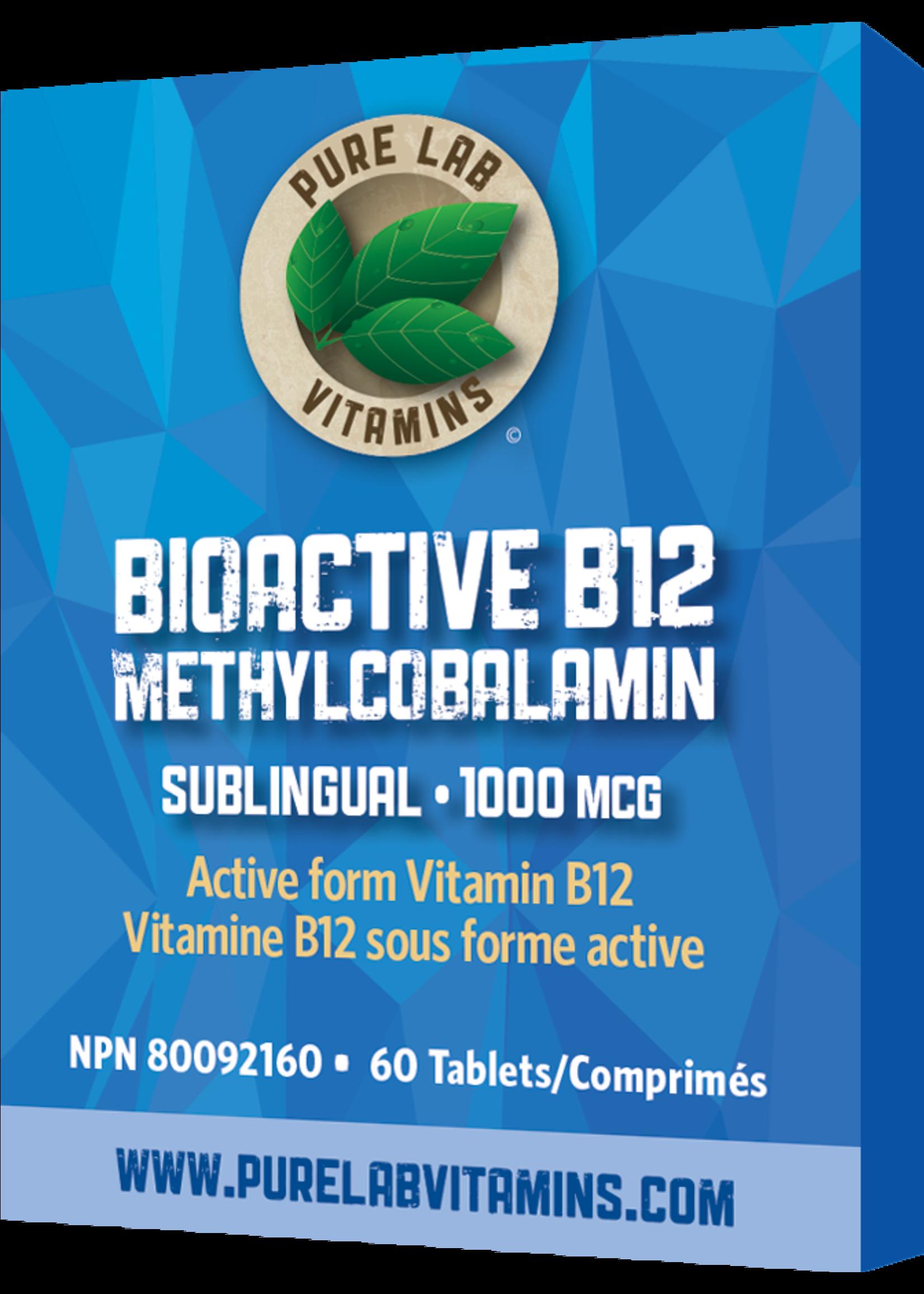 Pure lab Pure Lab Bioactive B12 1000mcg Sublingual