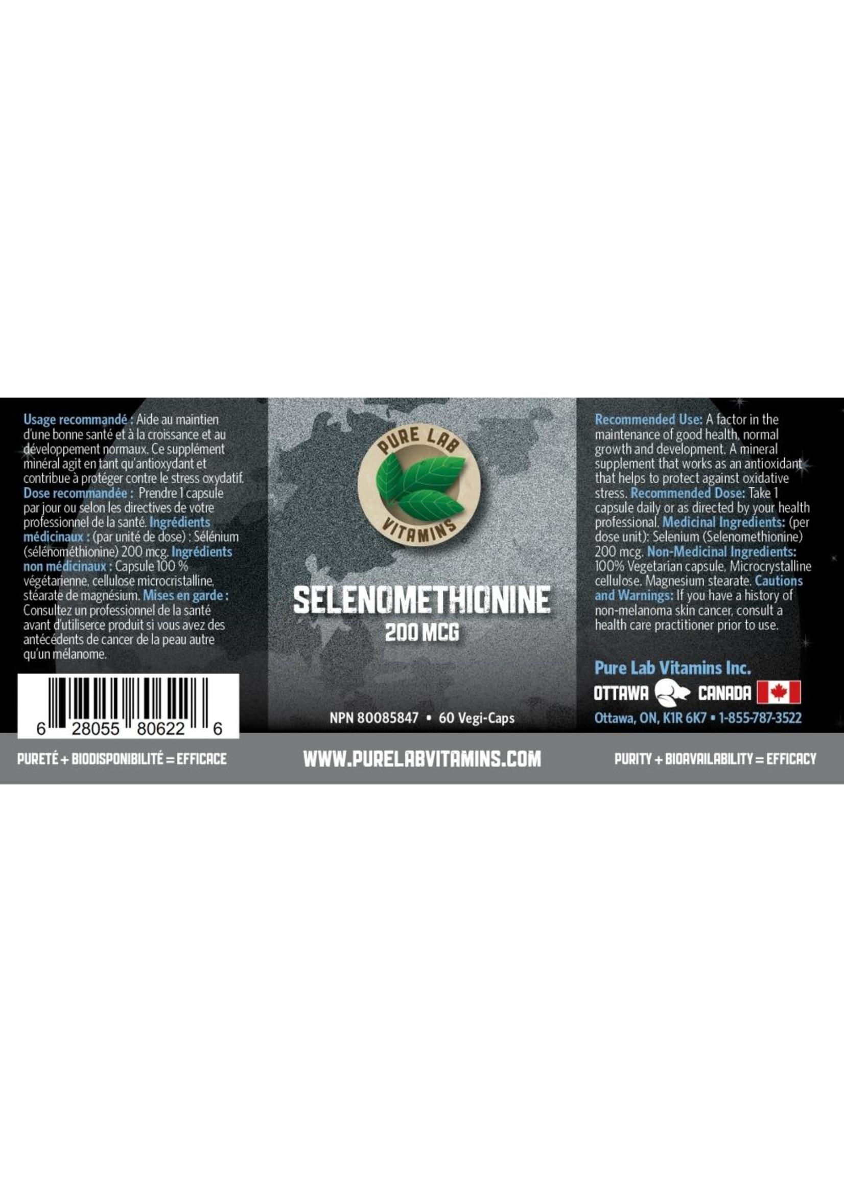 Pure lab Pure Lab Selenomethionine 200mcg 60 caps