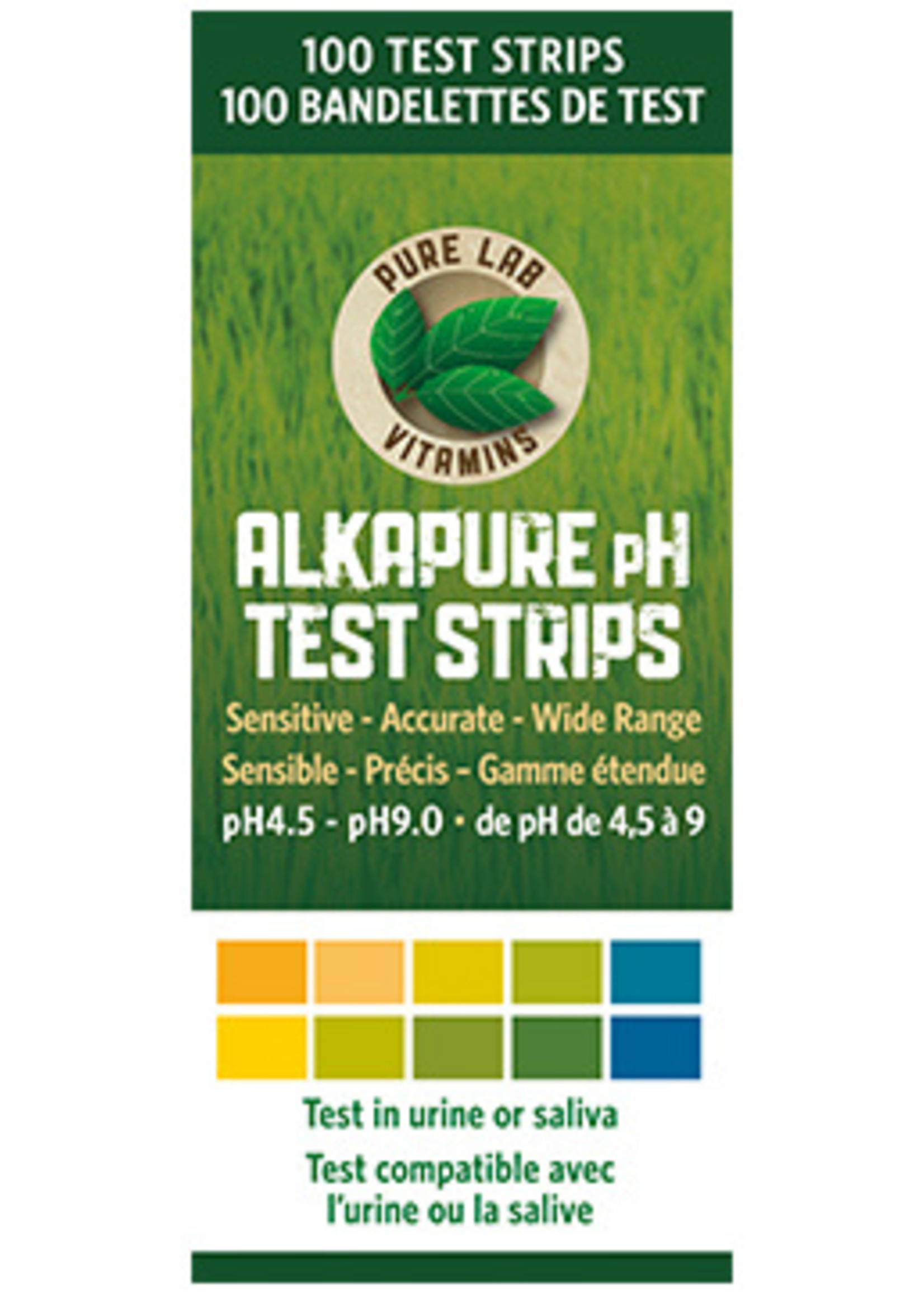 Pure lab Pure Lab AlkaPure pH test strips