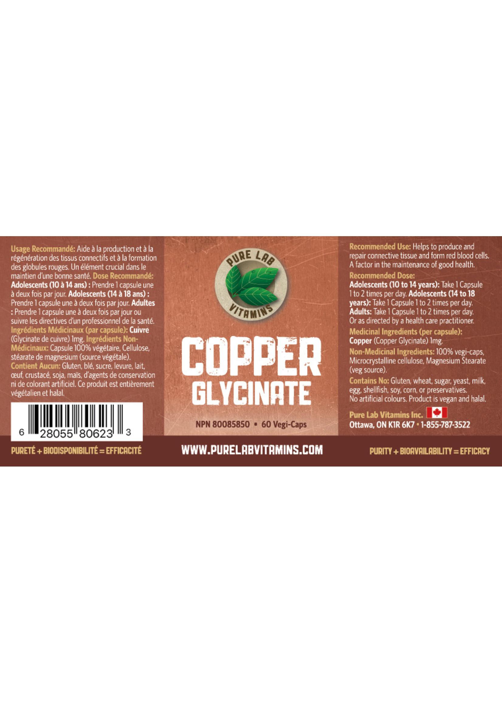 Pure lab Pure Lab Copper Glycinate 1mg
