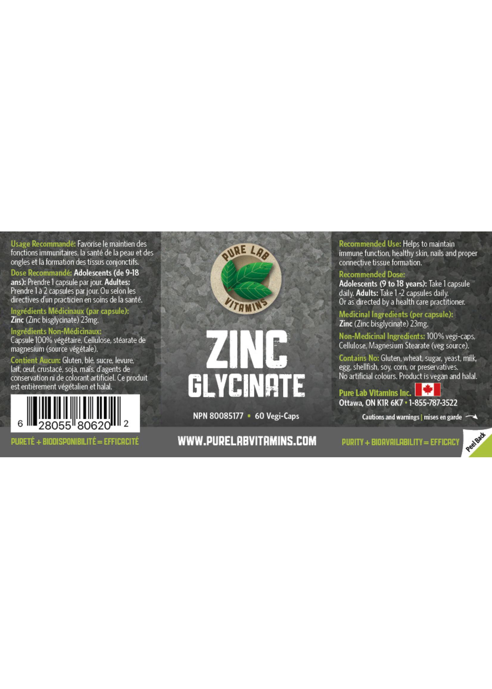 Pure lab Pure Lab Zinc Glycinate 23mg