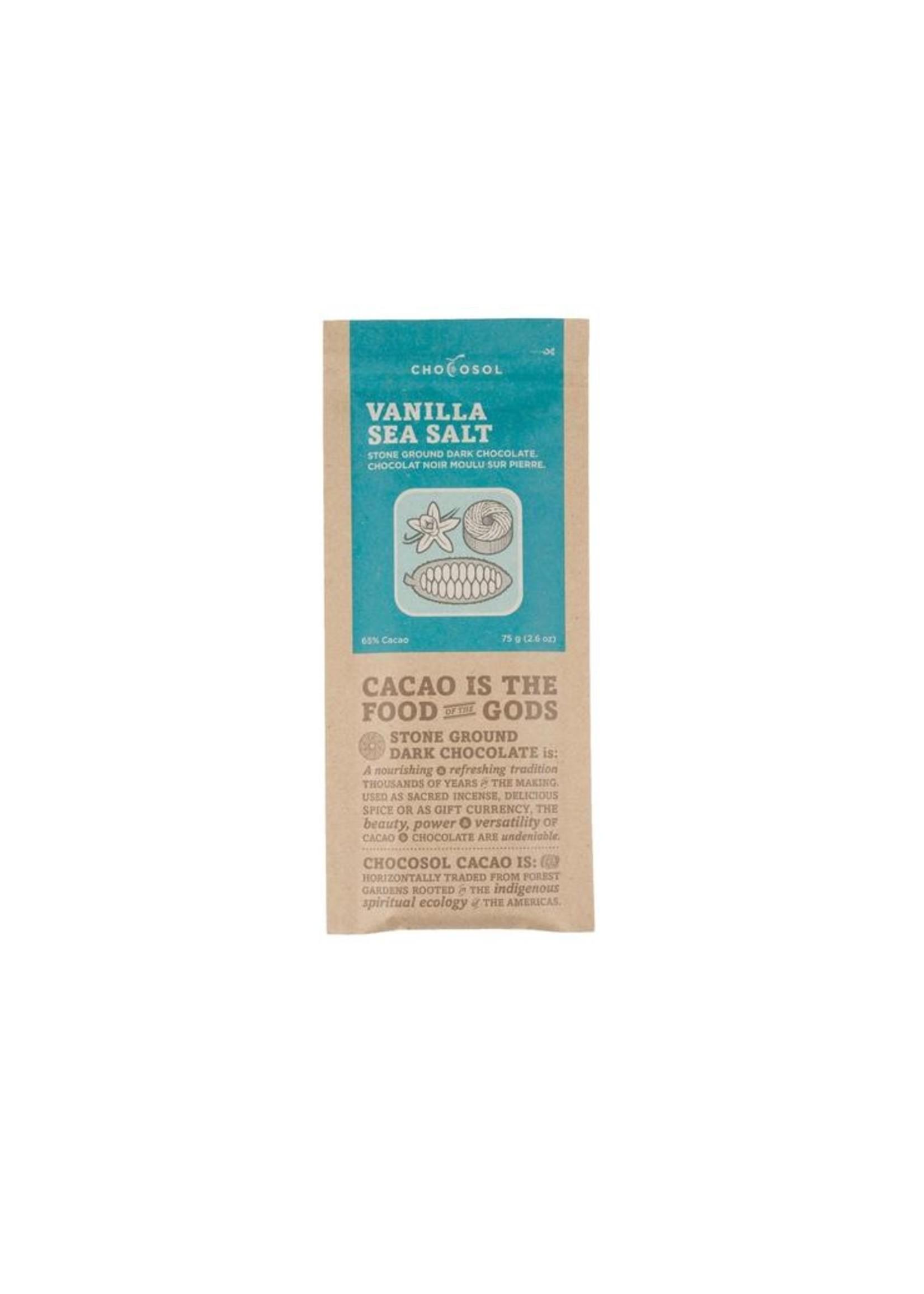 Chocosol Vanilla Sea Salt Chocosol