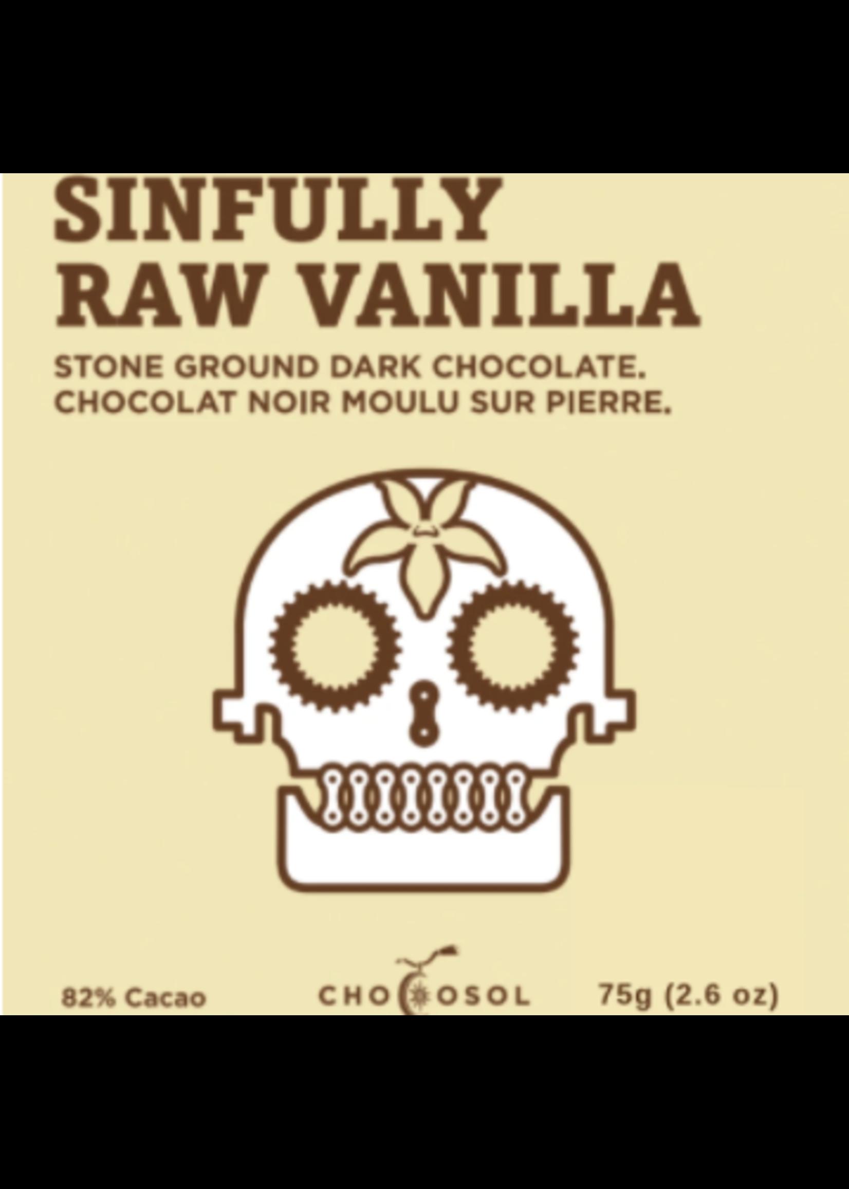 Chocosol Sinfully Raw Vanilla Chocosol