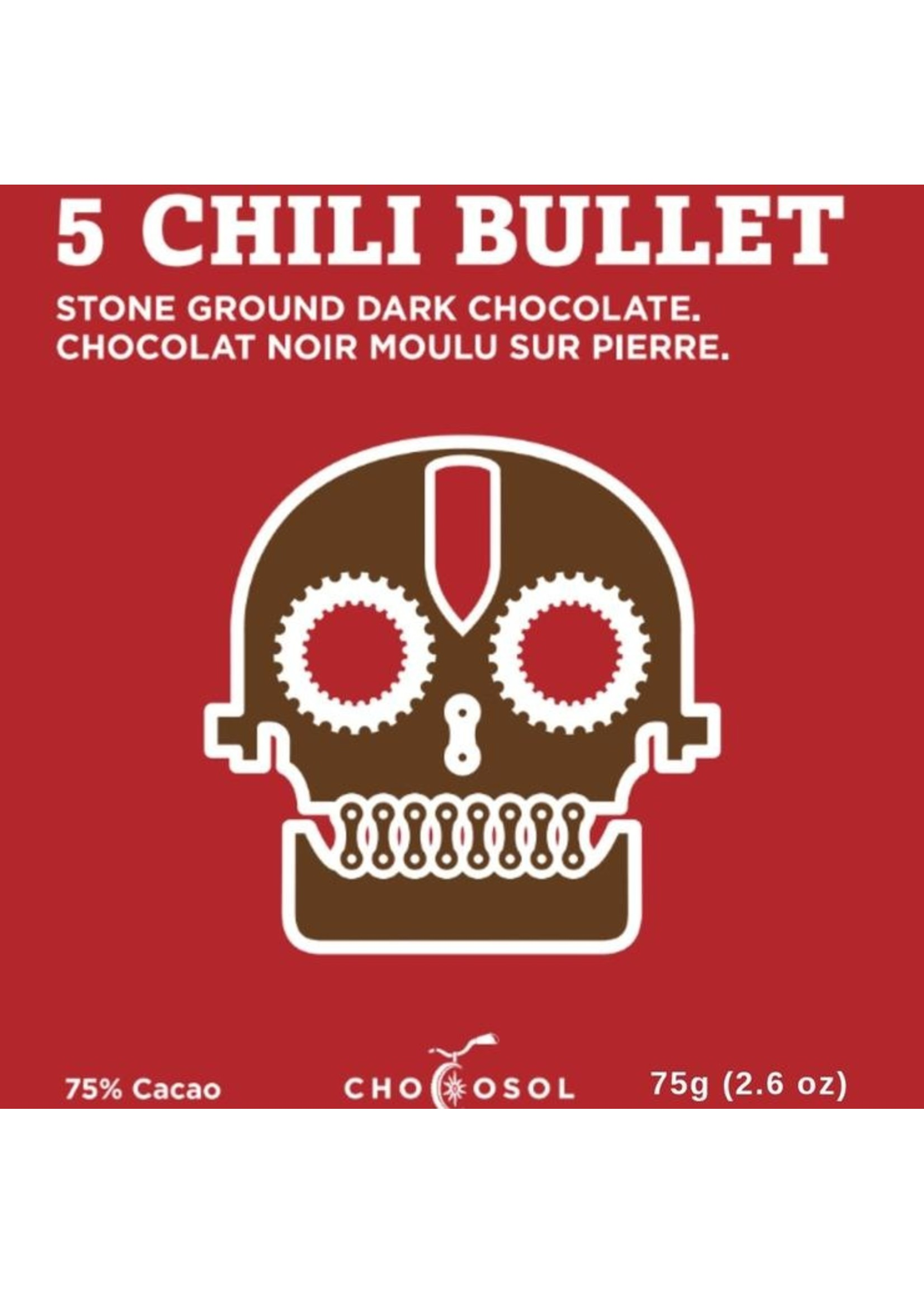 Chocosol Five Chili Bullet Chocosol