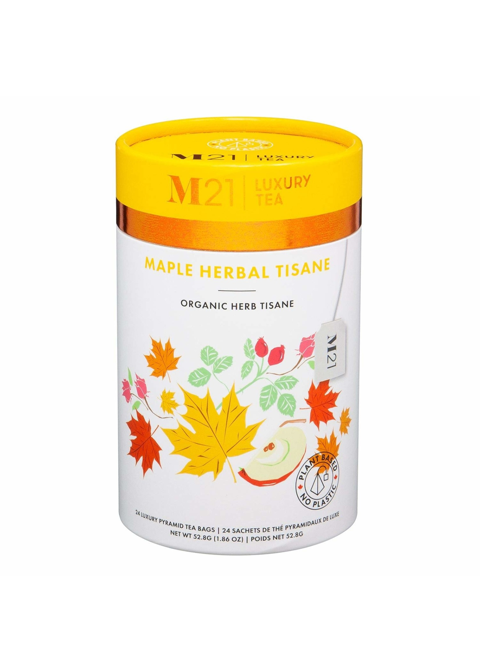 Metropolitan Tea M21 Luxury Tea- Maple Herbal Tisane Organic