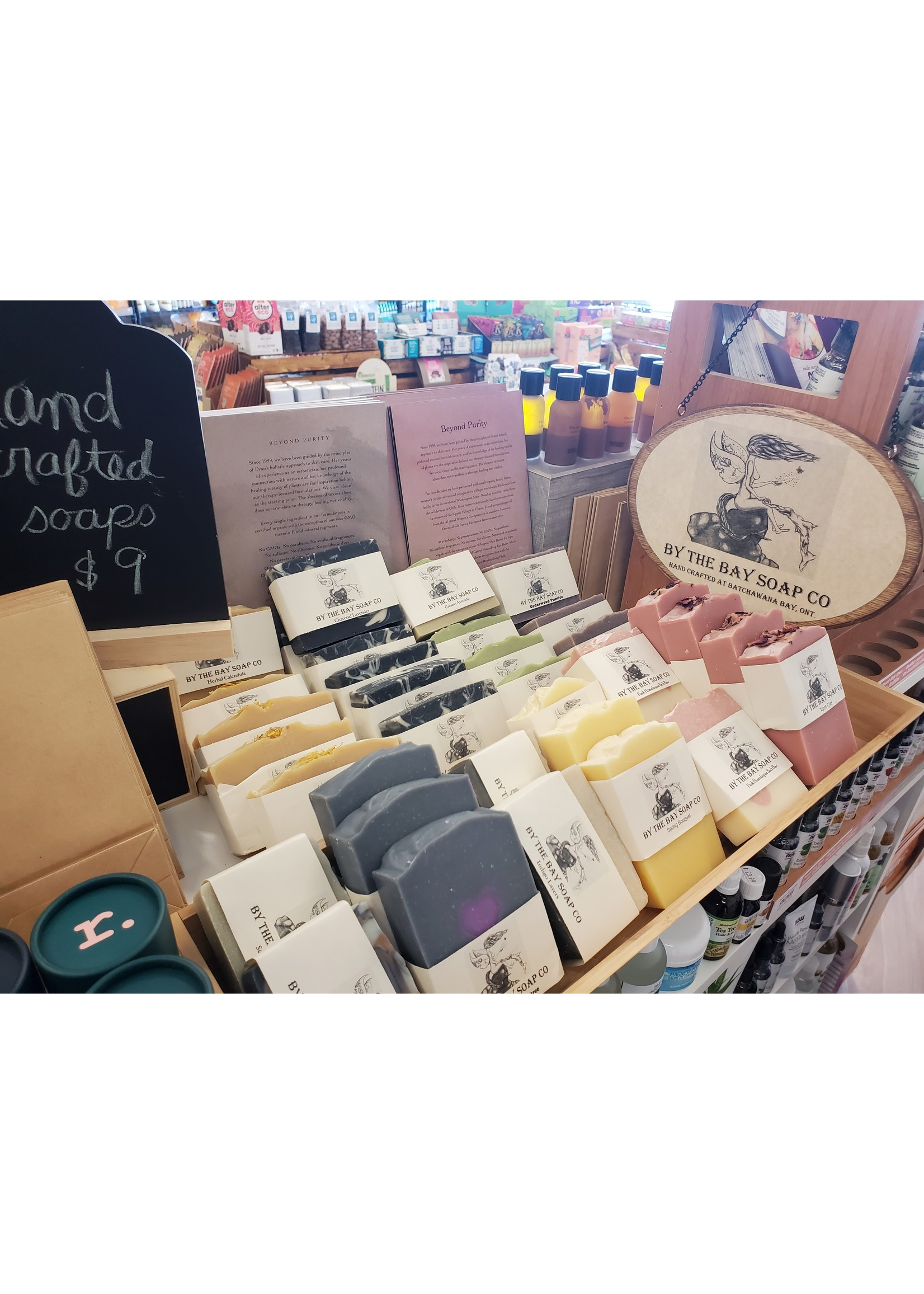 By the Bay Soap Co By the Bay Charcoal Lavender Soap Bar