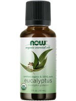 Now Now Organic 100% Pure Eucalyptus Oil 30ml