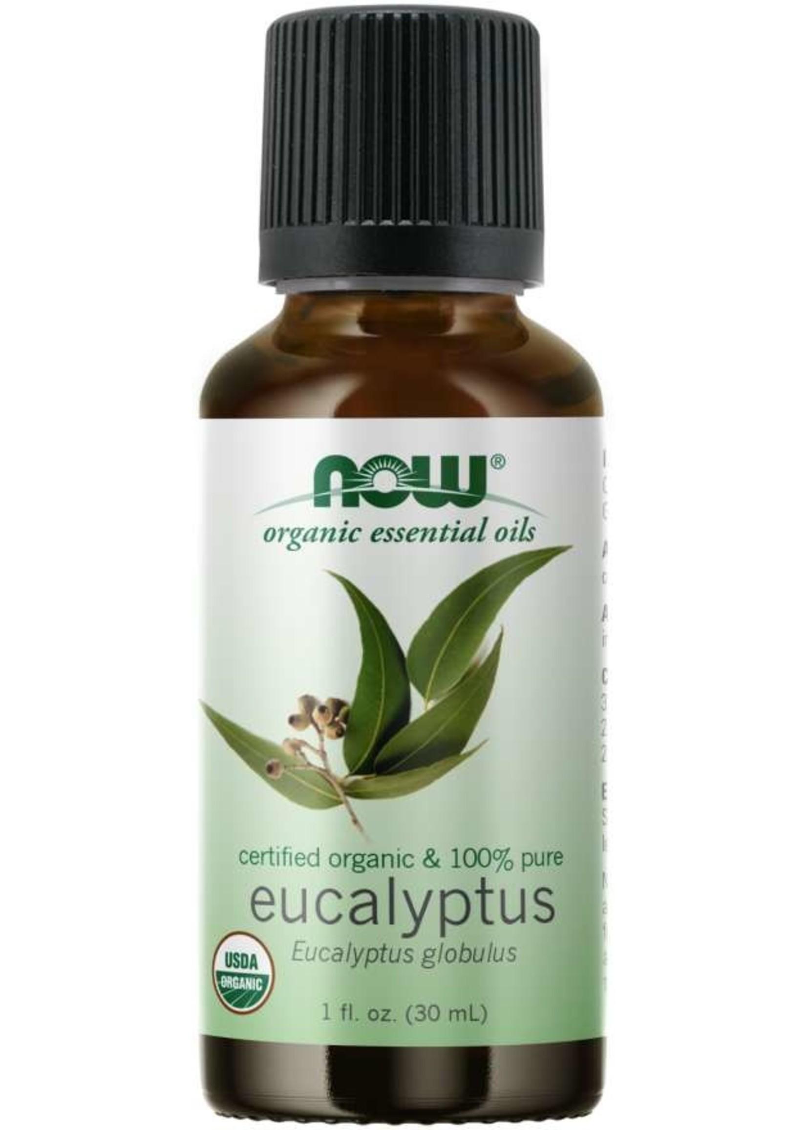 Now Now Organic 100% Eucalyptus Oil 30ml