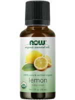 Now Now Organic 100% Lemon Essential Oil 30ml