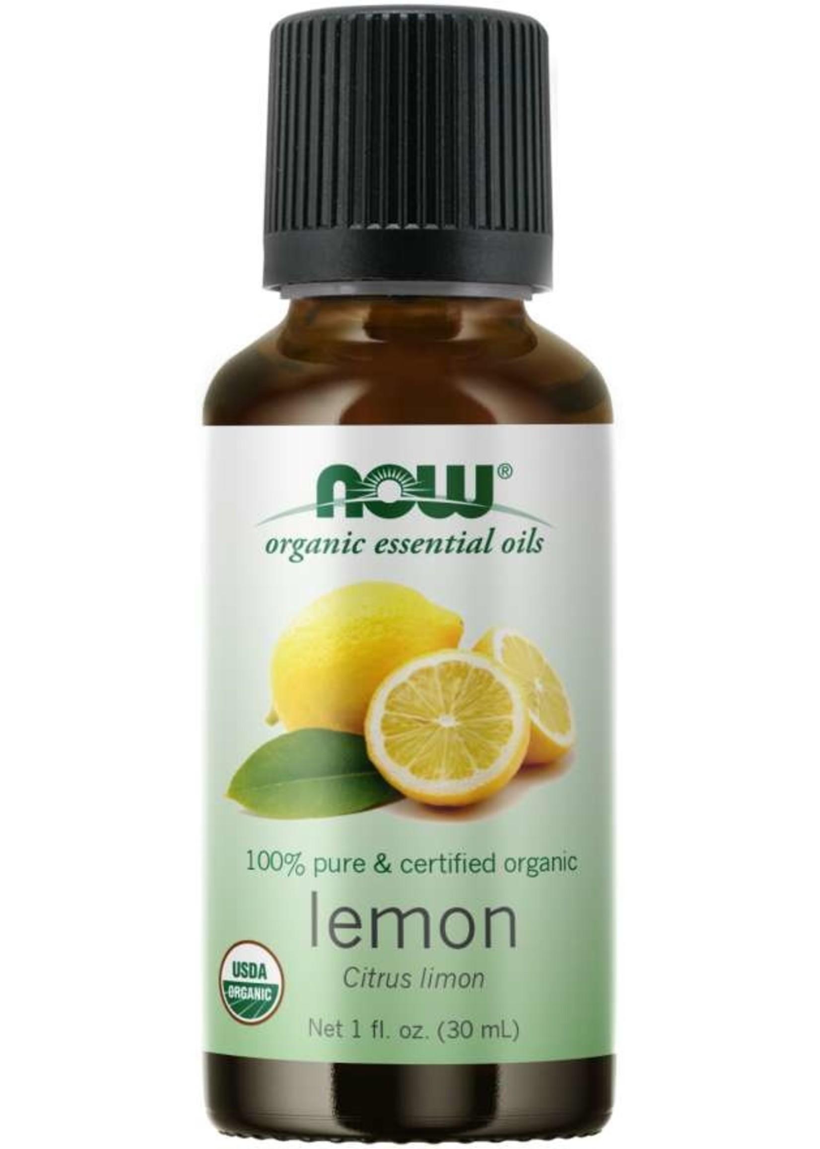Now Now Organic 100% Lemon Essential Oil 30ml