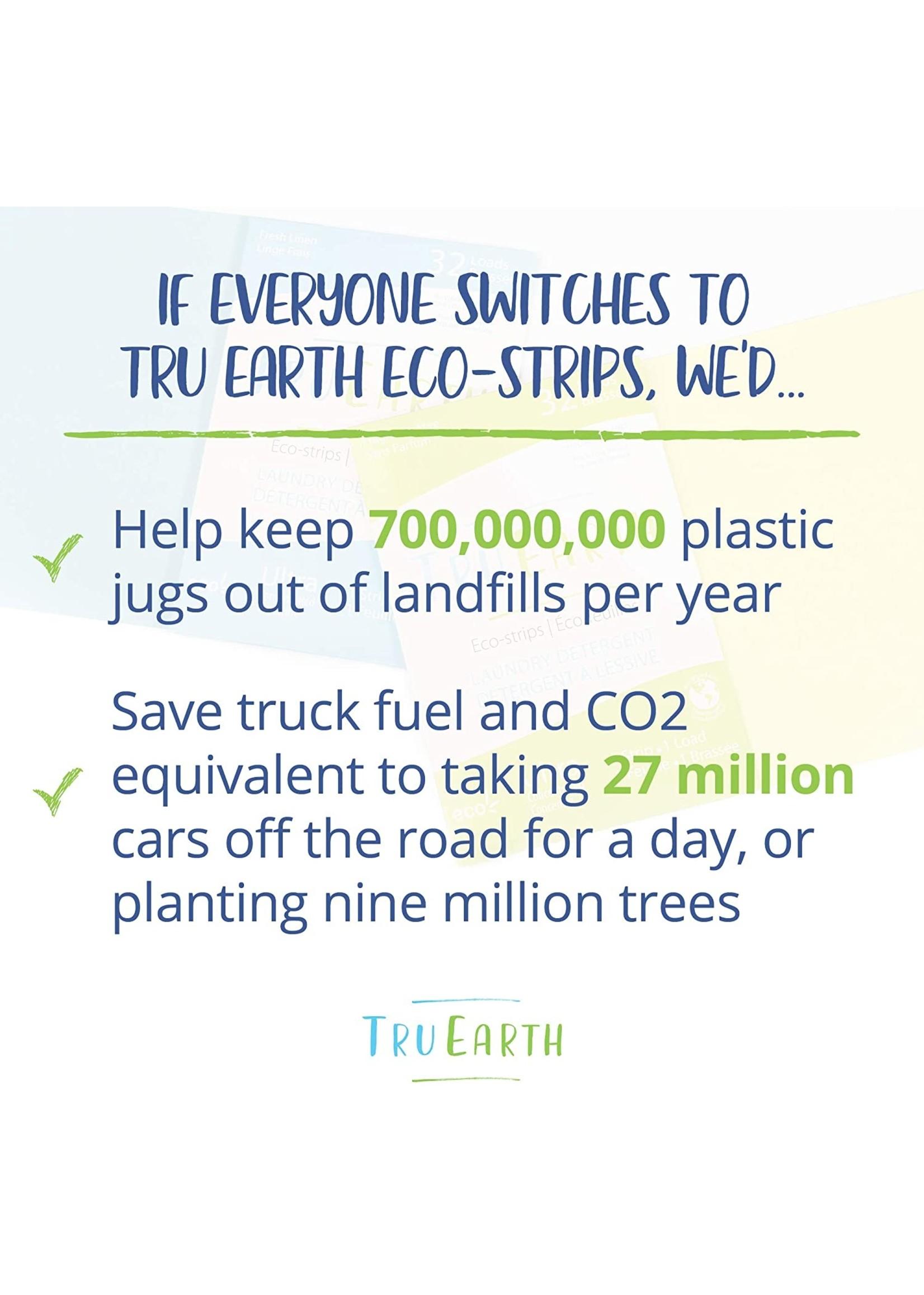 Tru-Earth Tru Earth Eco-Strips Laundry Detergent FRAGRANCE-FREE - 64 Loads