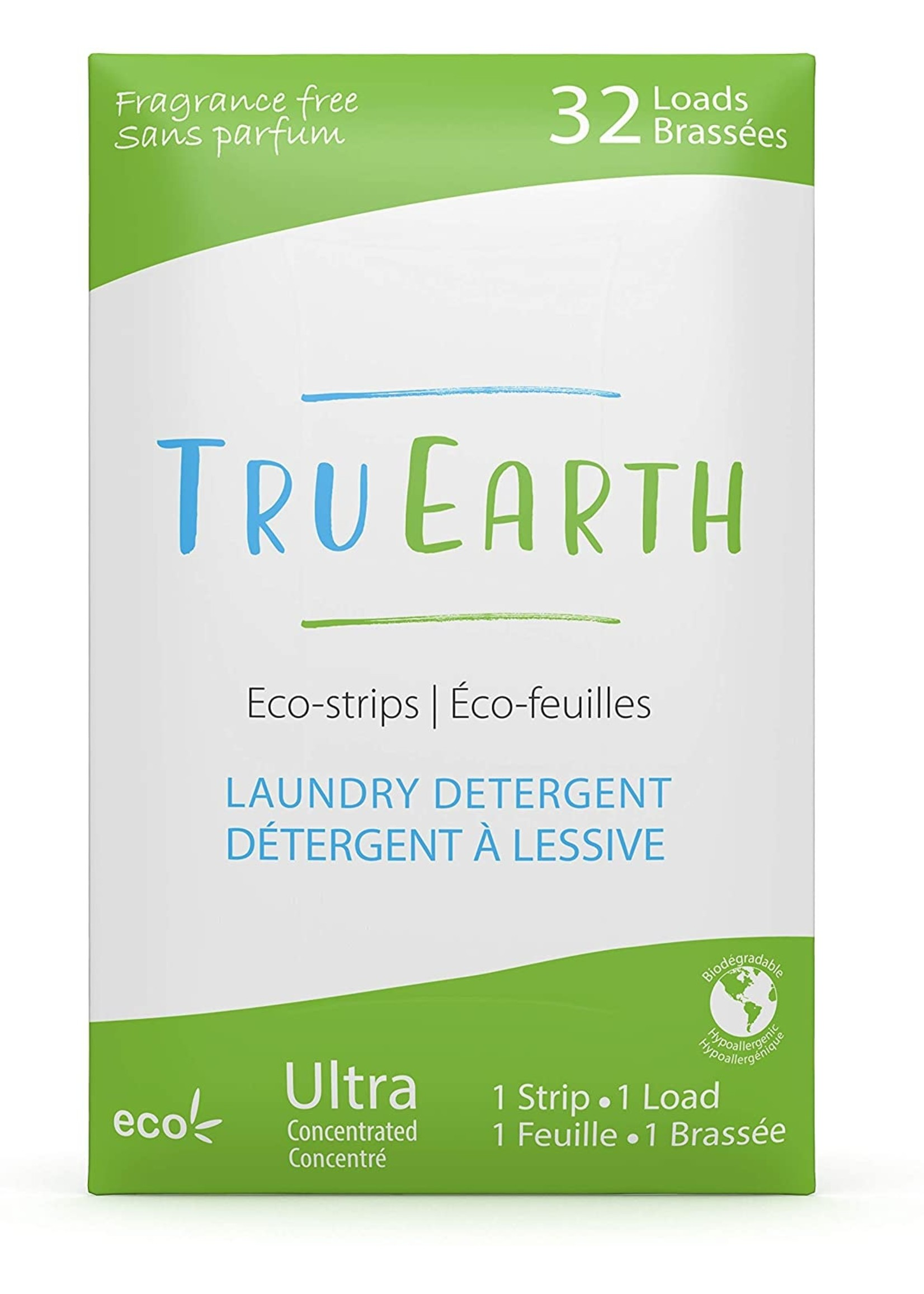 Tru-Earth Tru Earth Eco-Strips Laundry Detergent FRAGRANCE-FREE - 32 Loads