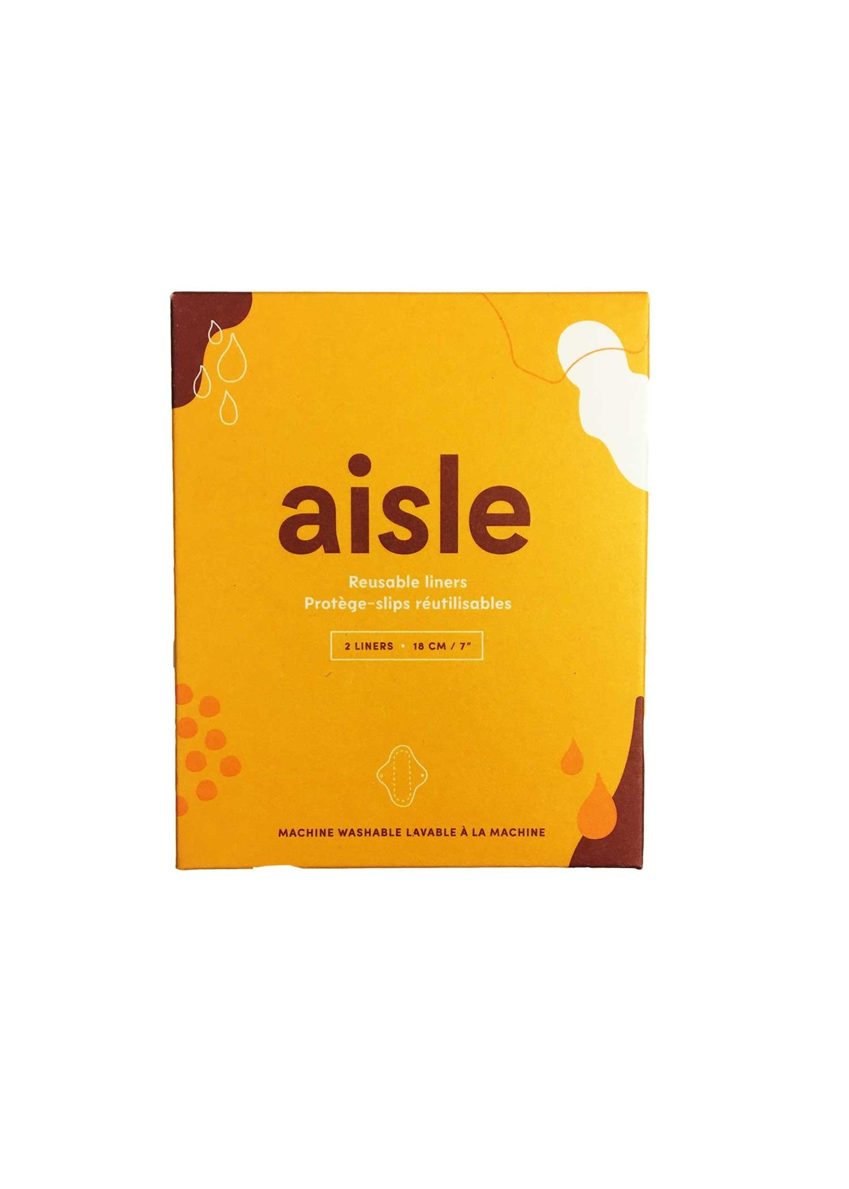 AISLE-REUSABLE LINERS 2 LINERS