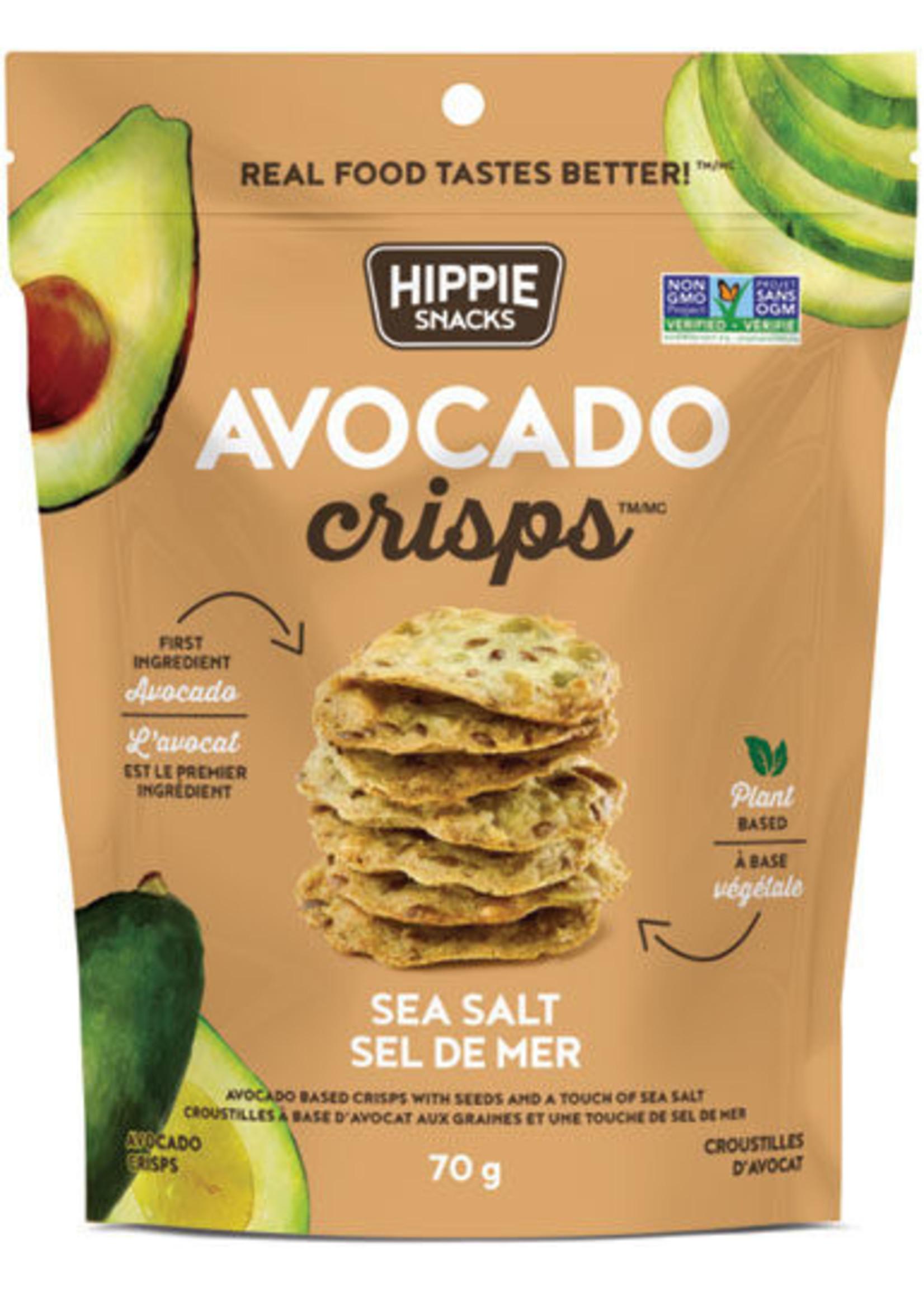Hippie Snacks Avocado Crisps SEA SALT