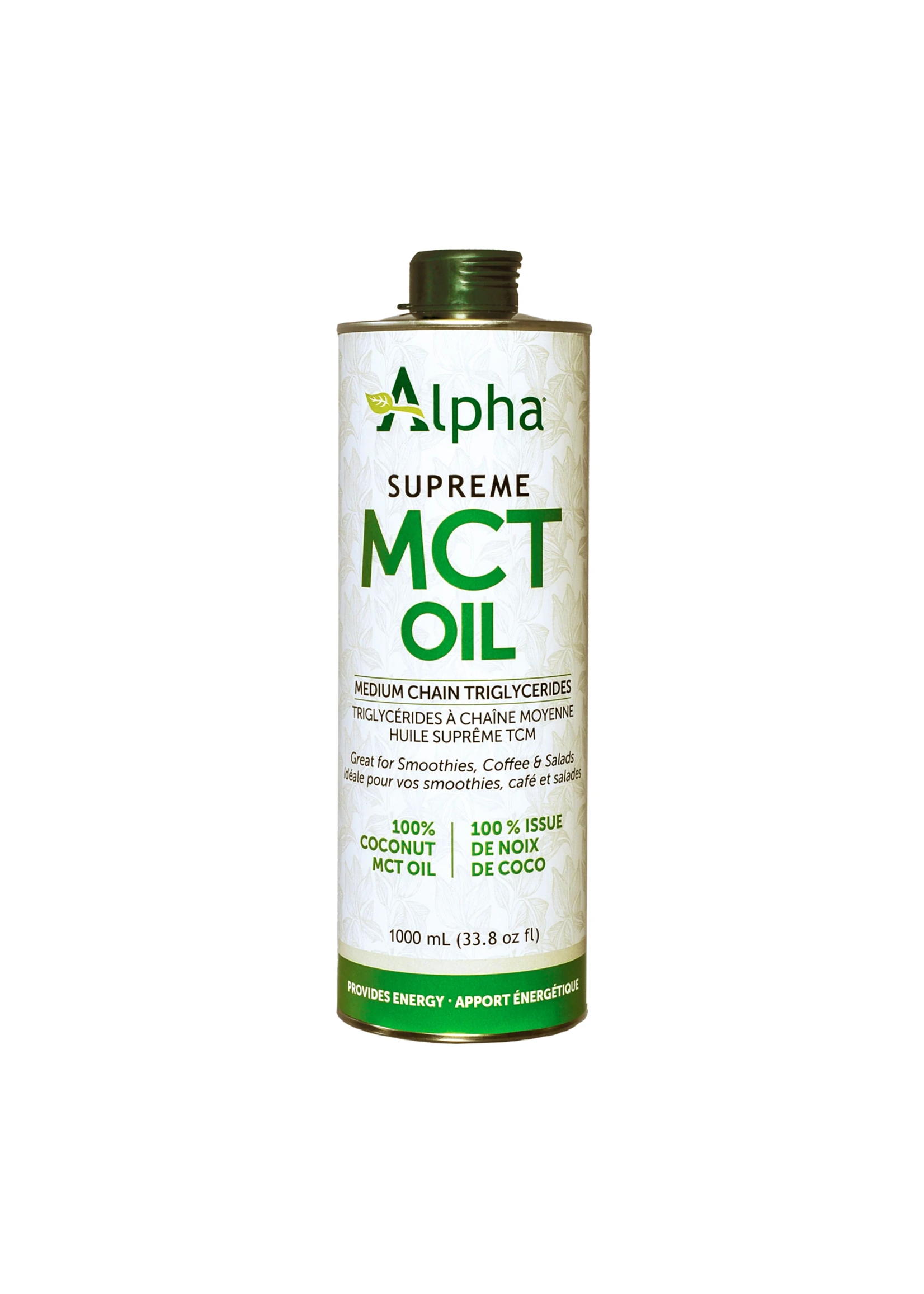 Alpha Health Alpha Health Supreme 60/40 MCT oil 1L