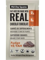 Mid Day Squares Mid Day Squares Superfood Squares w/Real Chocolate, Fudge Yah, Organic (raw/gluten free/vegan)