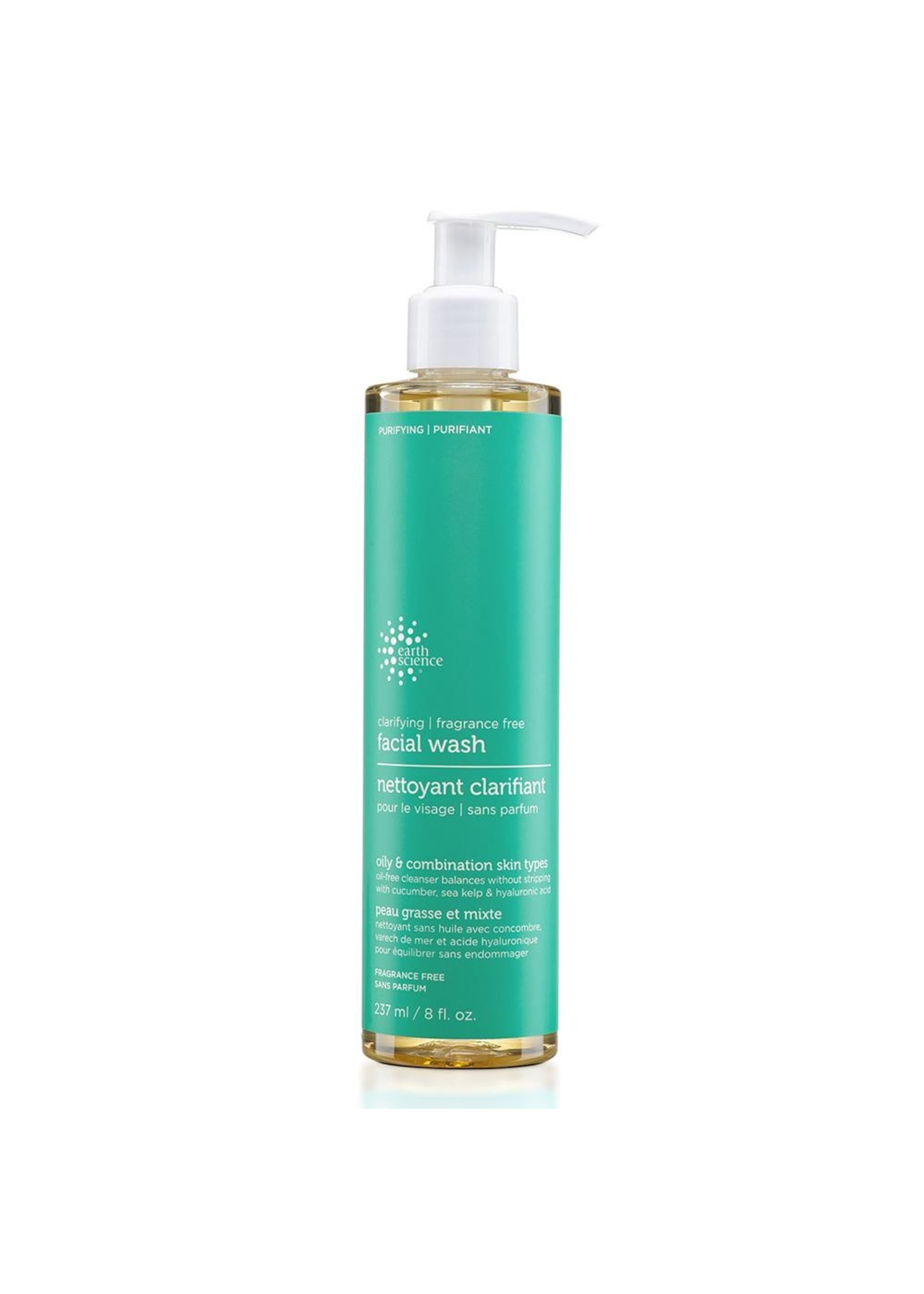 EARTH SCIENCE EARTH SCIENCE -CLARIFYING FACIAL CLEANSER - FRAGRANCE FREE 237ML