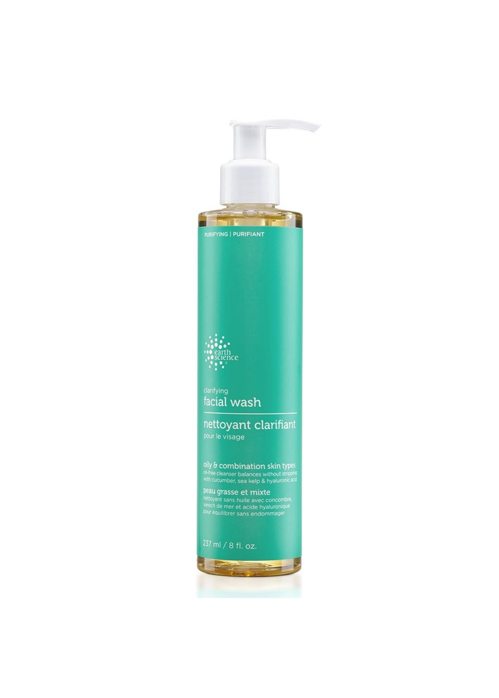 EARTH SCIENCE EARTH SCIENCE - CLARIFYING FACIAL WASH OILY/NORMAL 237ml