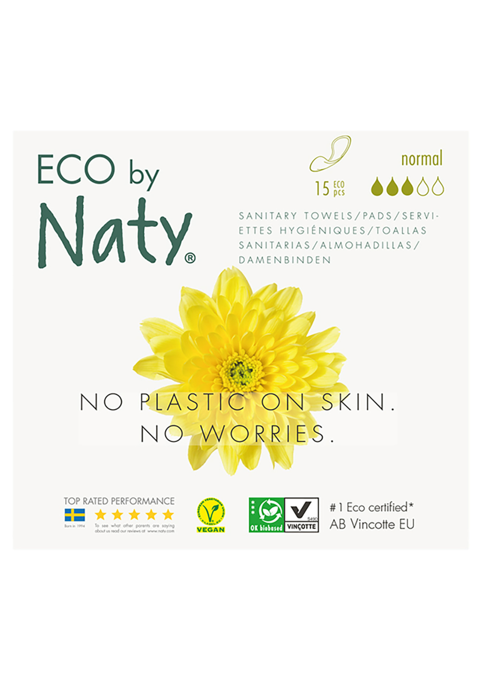 Eco by Naty Thin Pads - Normal