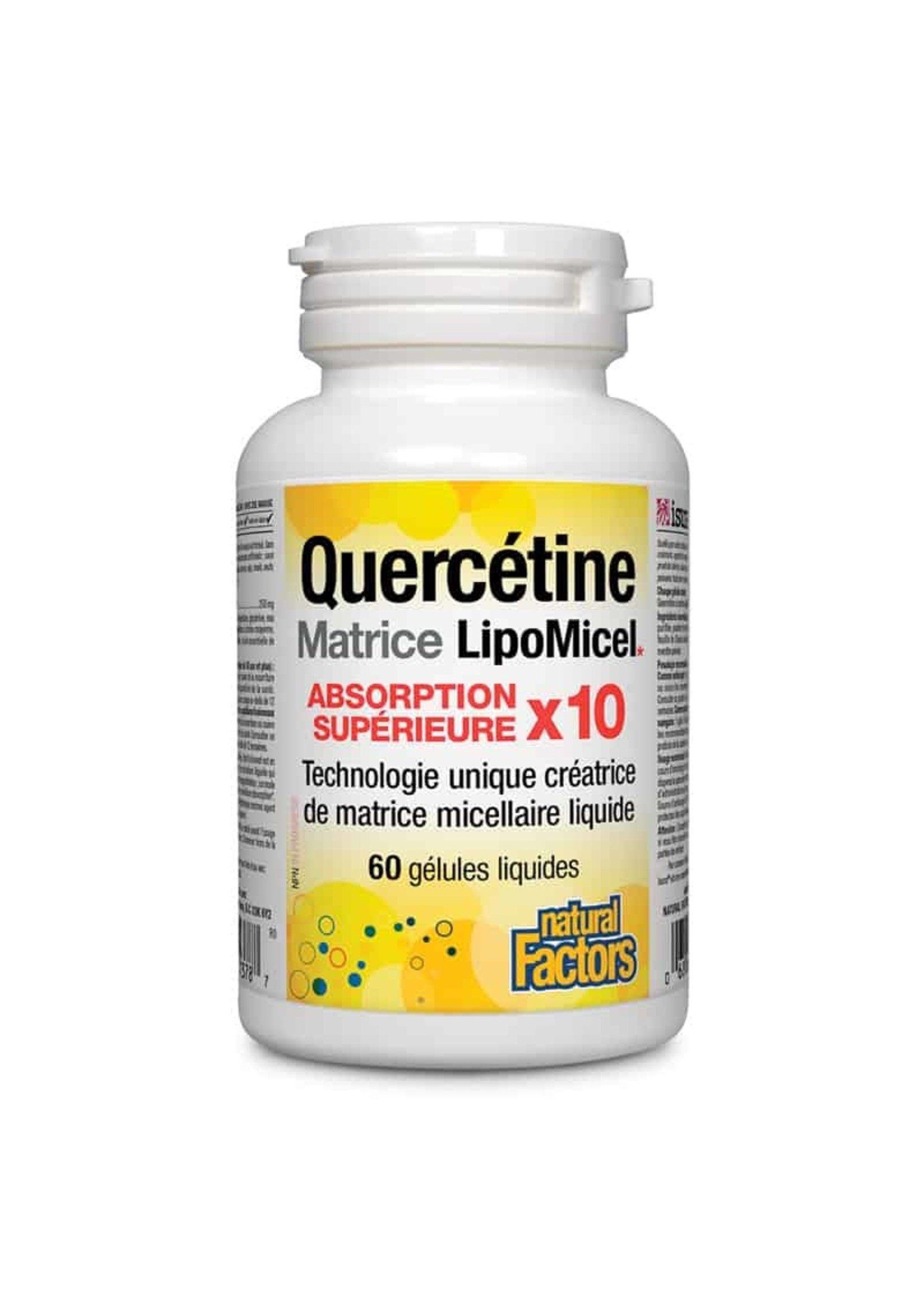 Natural Factors Quercetin LipoMicel Matrix