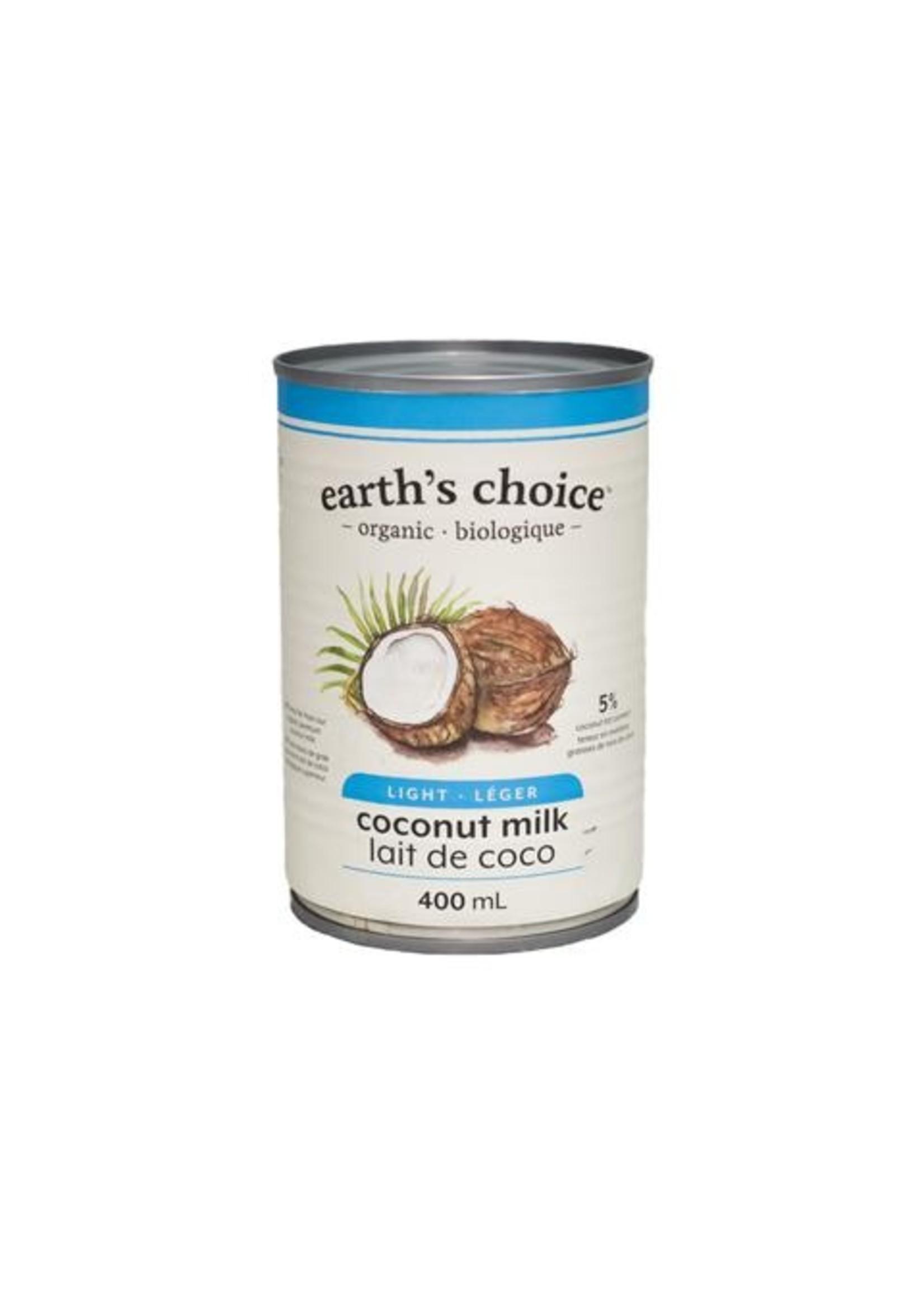 Earth's Choice Organic COCONUT MILK LIGHT