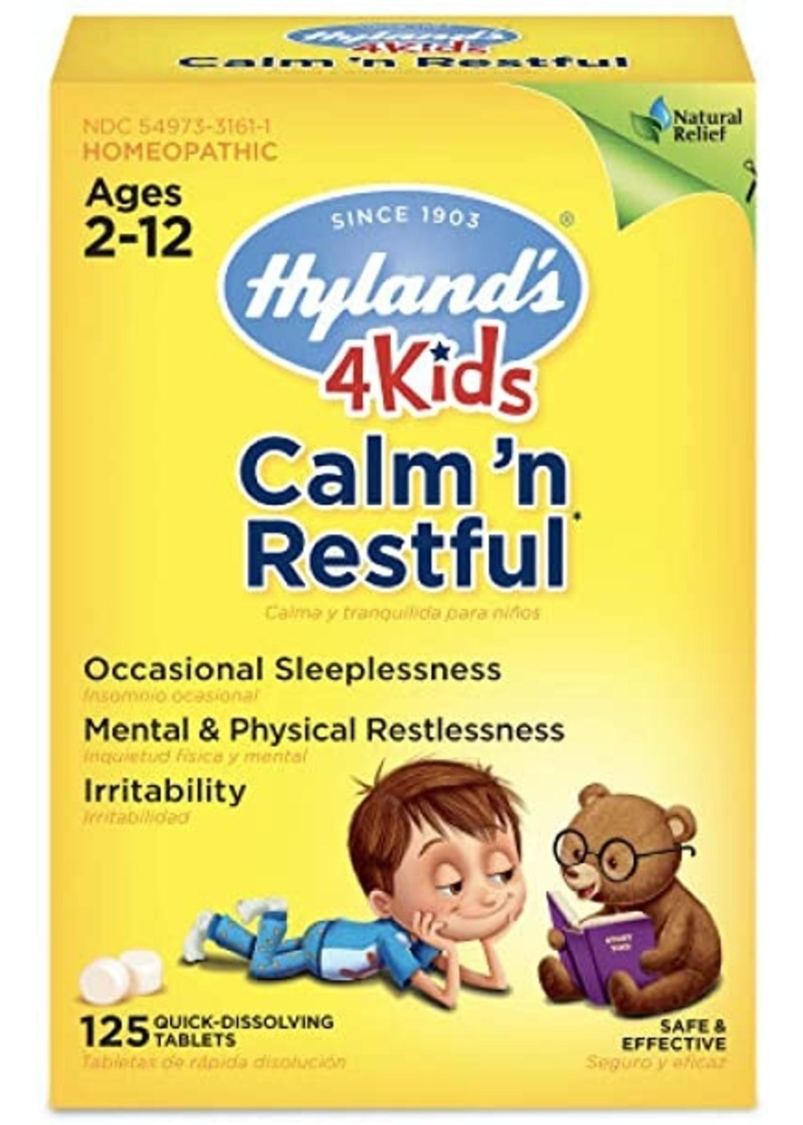 Hylands Calm n' Restful 4 Kids 125tablets