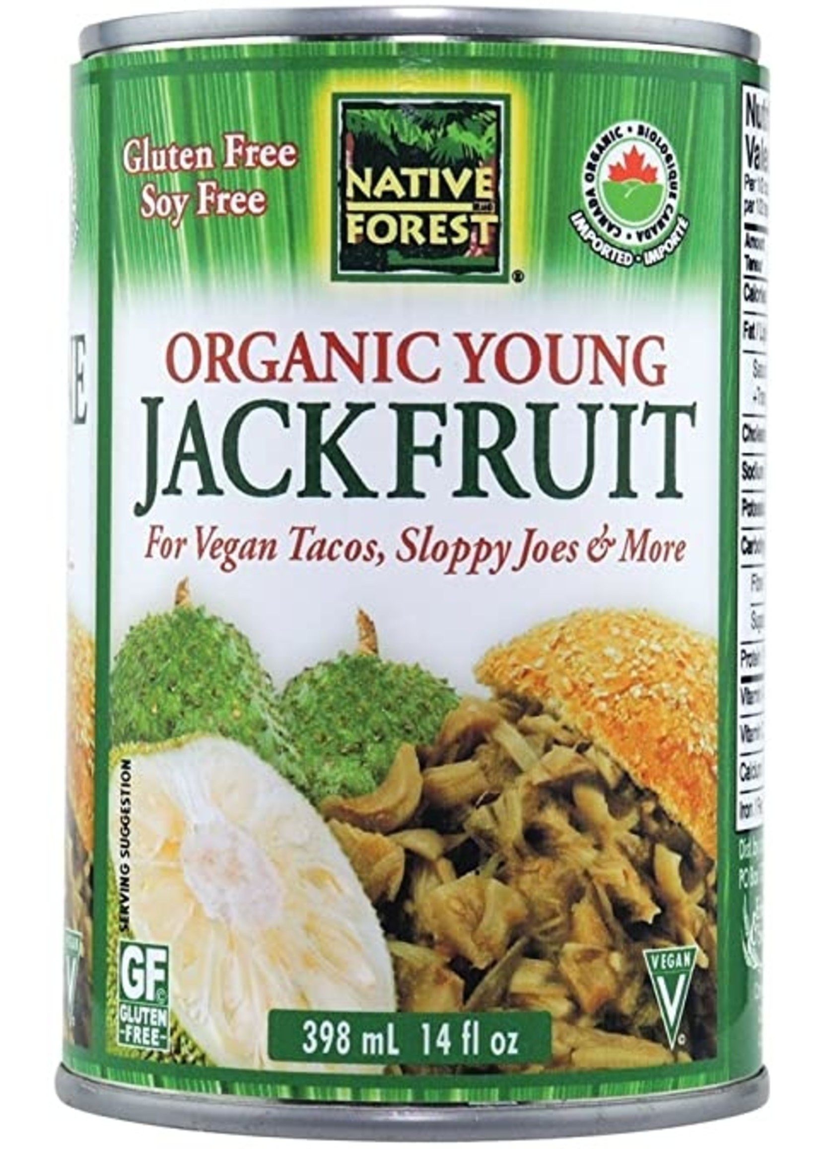 Native Forest Jackfruit, Young, Organic (can)