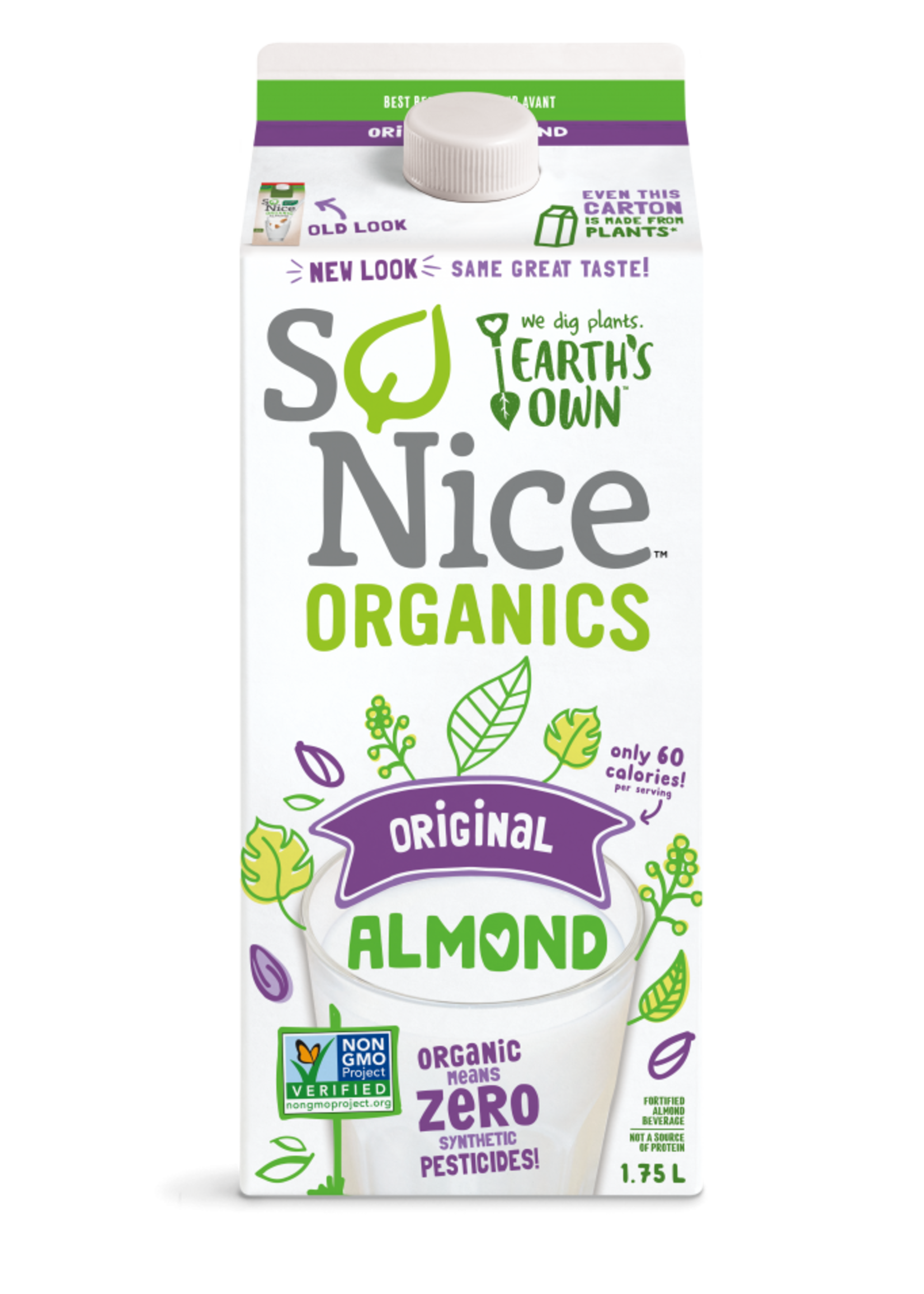So Nice Organic Almond Milk Unsweetened