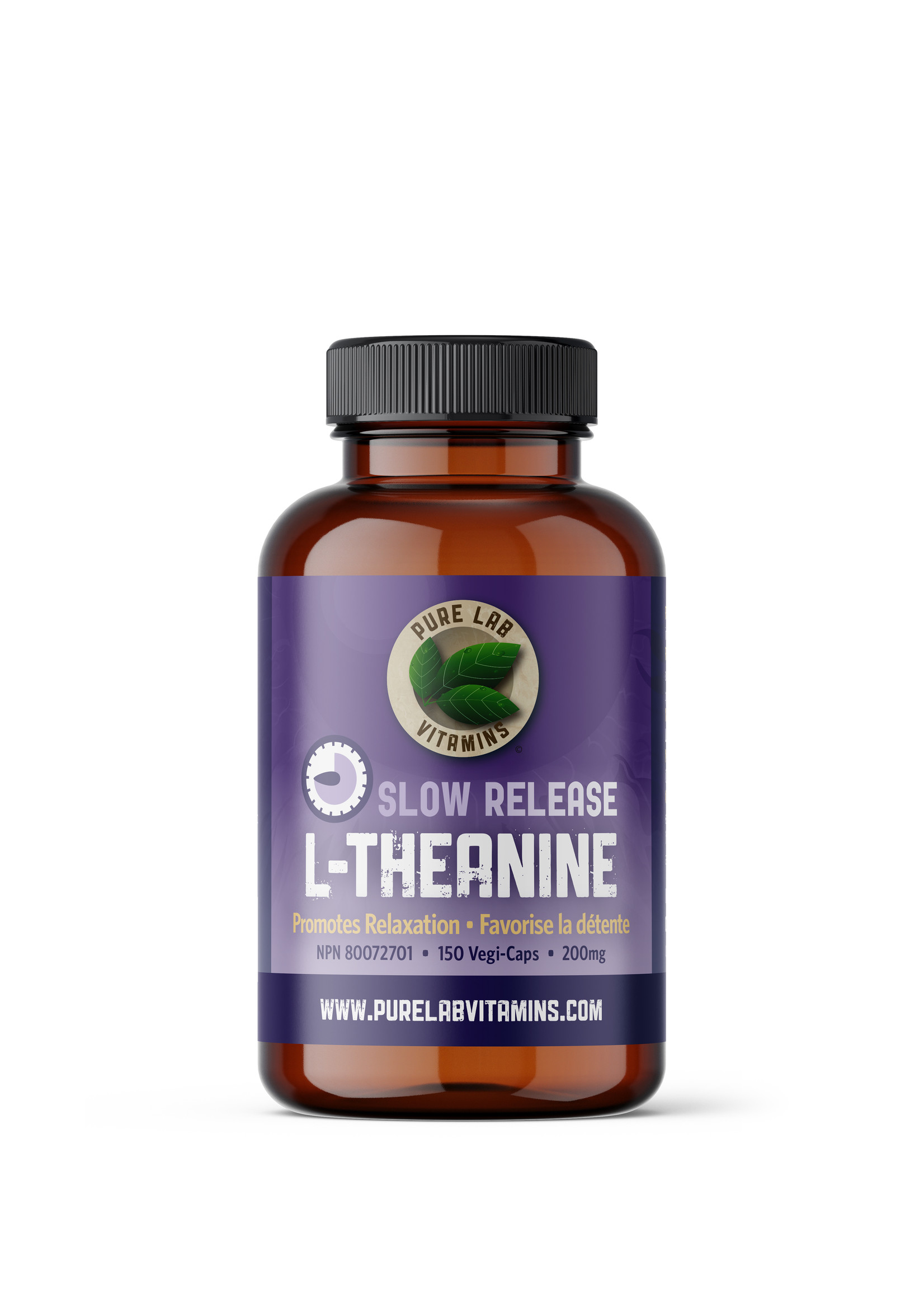 Pure lab Pure Lab L-Theanine Slow Release 200mg