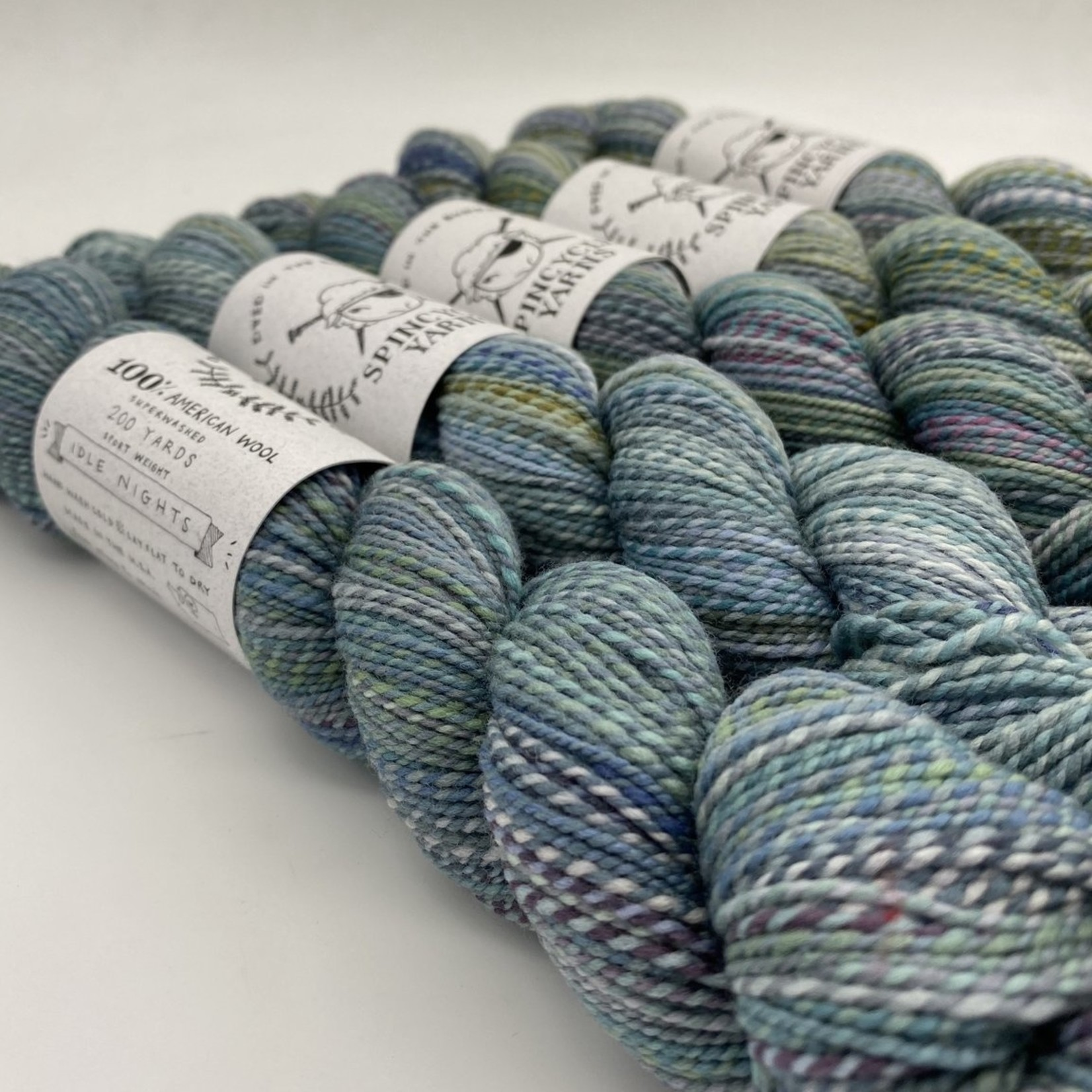 Spincycle Yarn Dyed in the Wool, Idle Nights