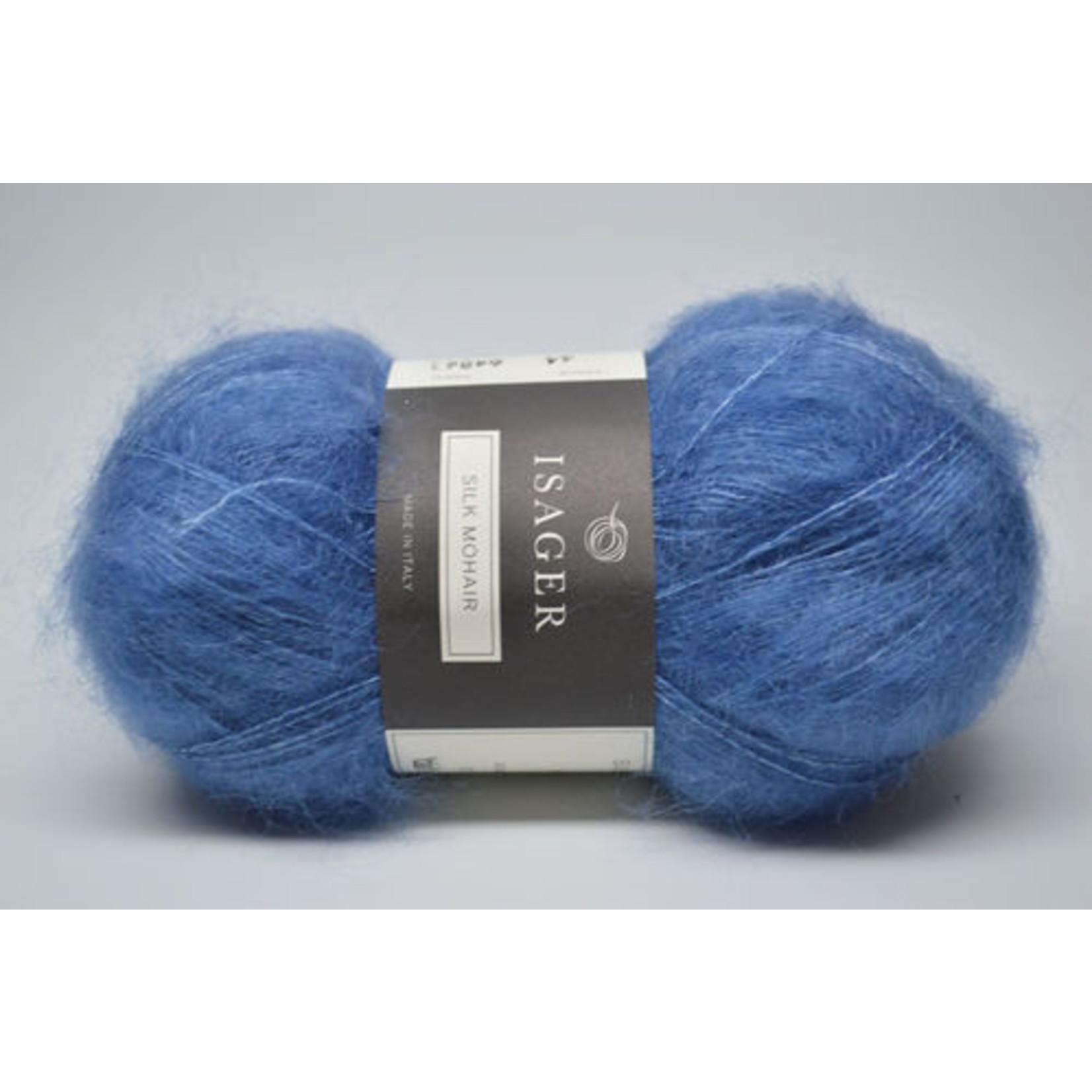 Tutto Isager Isager Silk Mohair, 44, Cobalt Blue