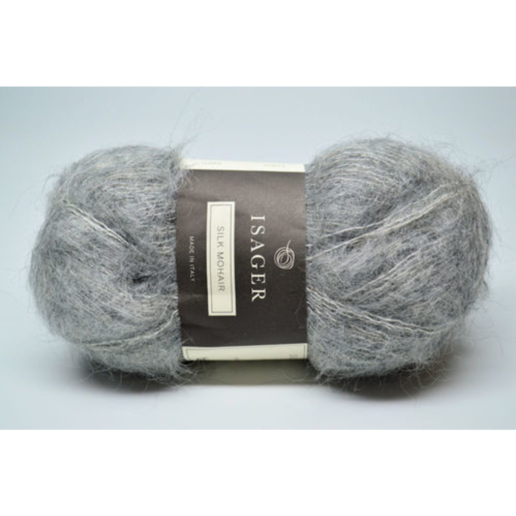 Tutto Isager Isager Silk Mohair, 3S, Gray