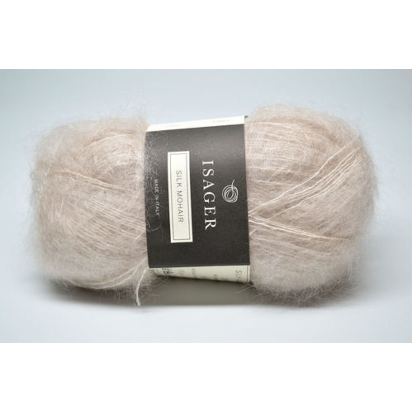Tutto Isager Isager Silk Mohair, 0, White